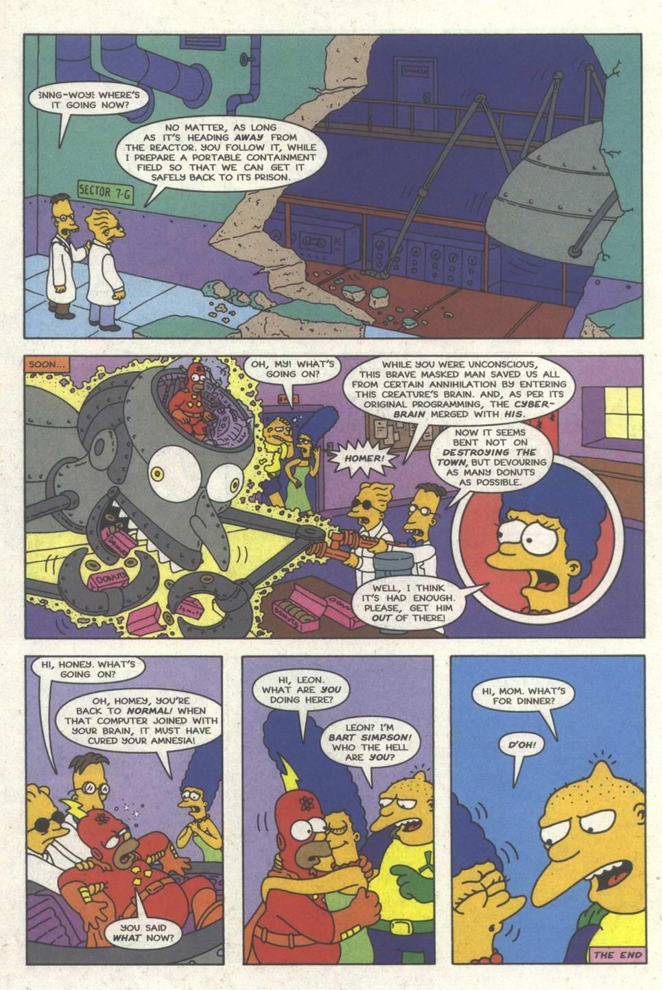 Read online Simpsons Comics comic -  Issue #31 - 23