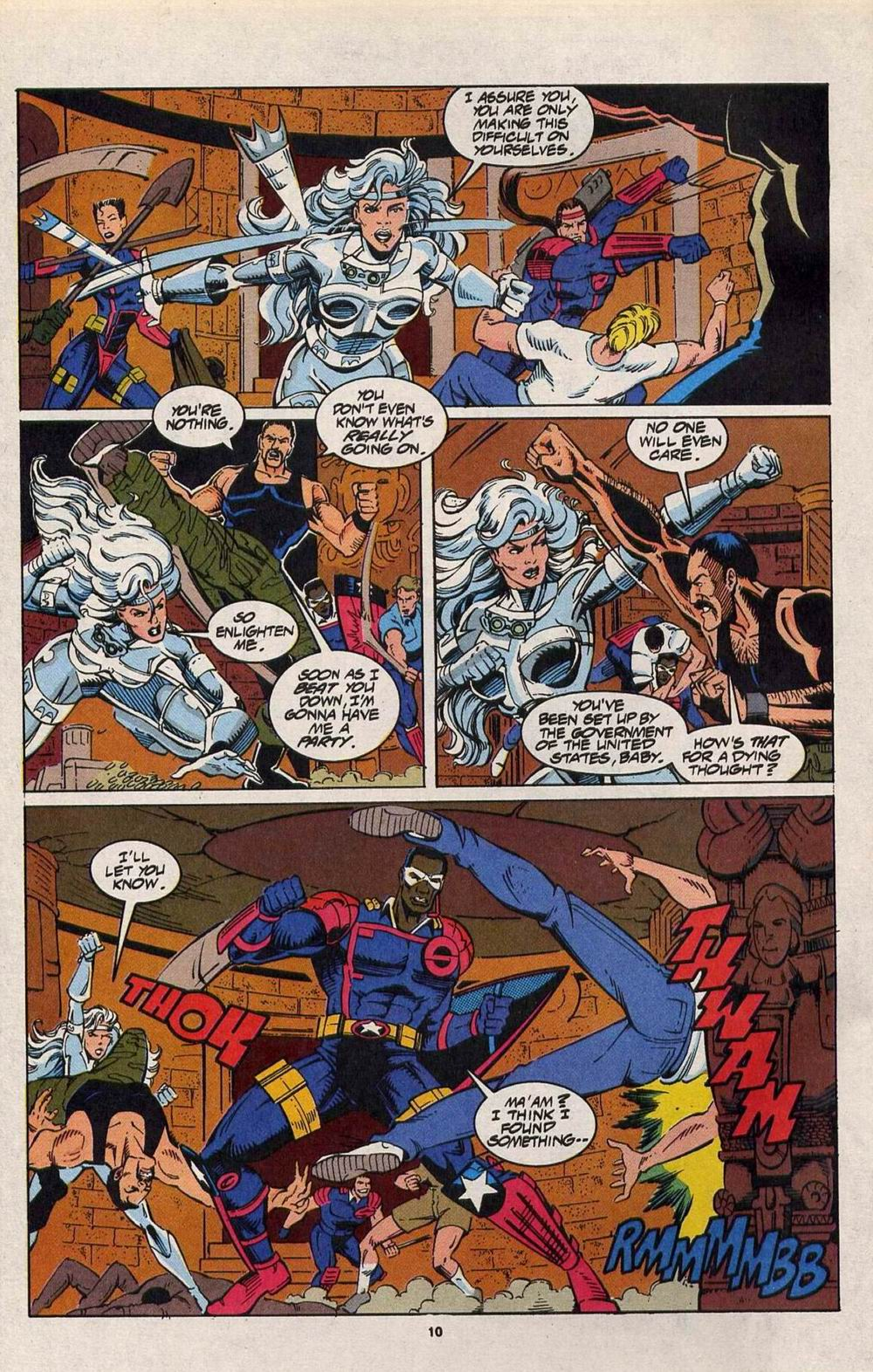 Read online Silver Sable and the Wild Pack comic -  Issue #29 - 8