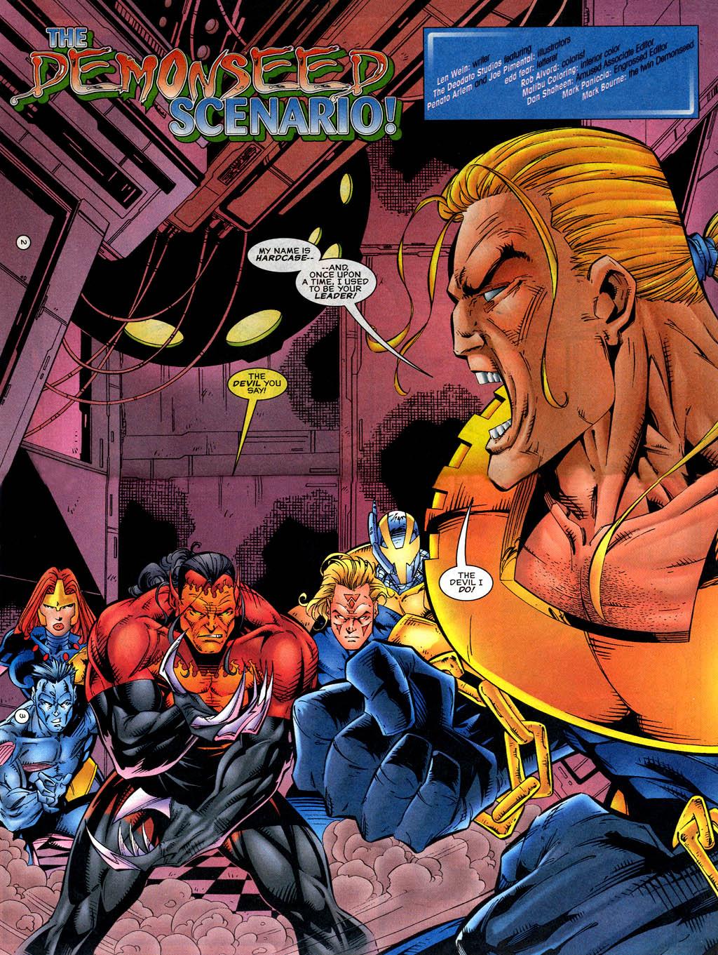 Read online UltraForce (1995) comic -  Issue #14 - 3
