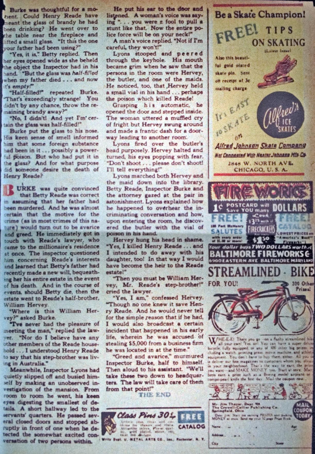Read online Detective Comics (1937) comic -  Issue #34 - 35