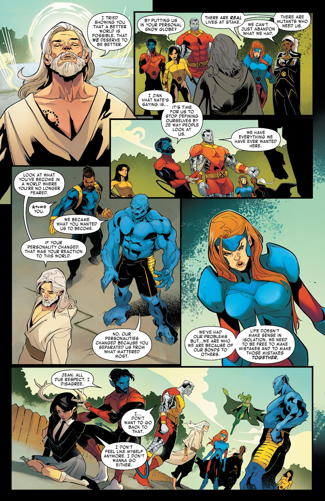 Read online Age of X-Man Omega comic -  Issue # Full - 24