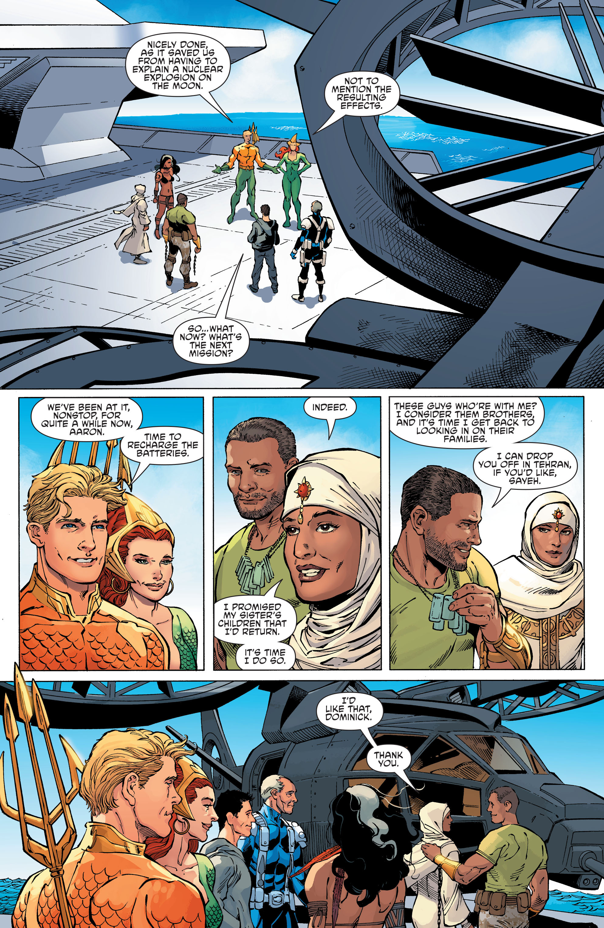 Read online Aquaman and the Others comic -  Issue #11 - 18