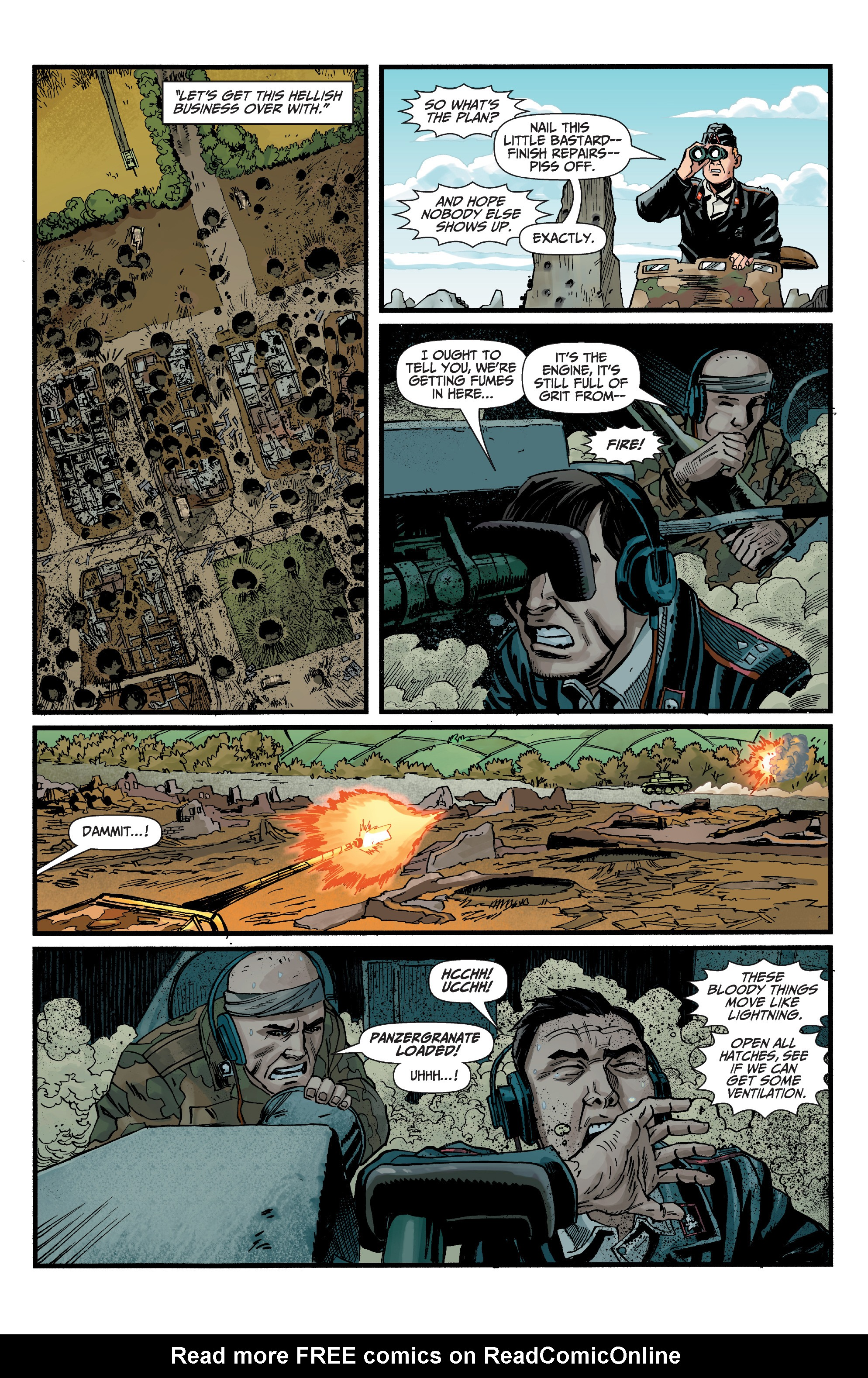 Read online World of Tanks comic -  Issue #5 - 12