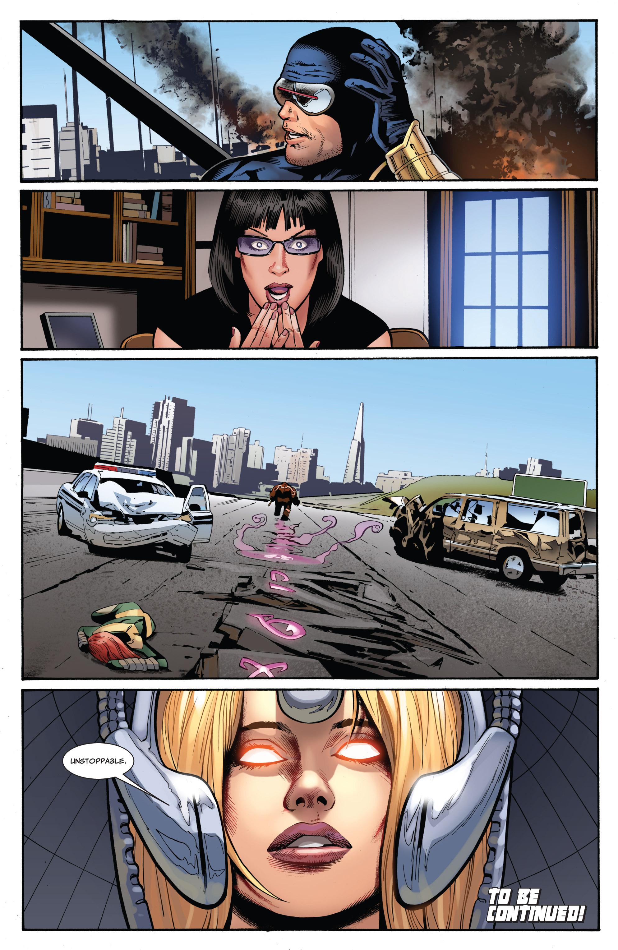 Read online Uncanny X-Men (1963) comic -  Issue #541 - 24