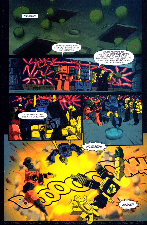 Read online Transformers Armada comic -  Issue #10 - 23