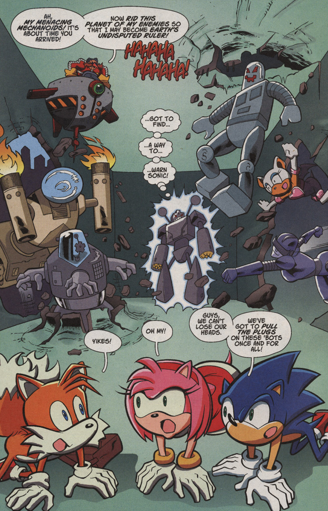 Read online Sonic X comic -  Issue #4 - 10
