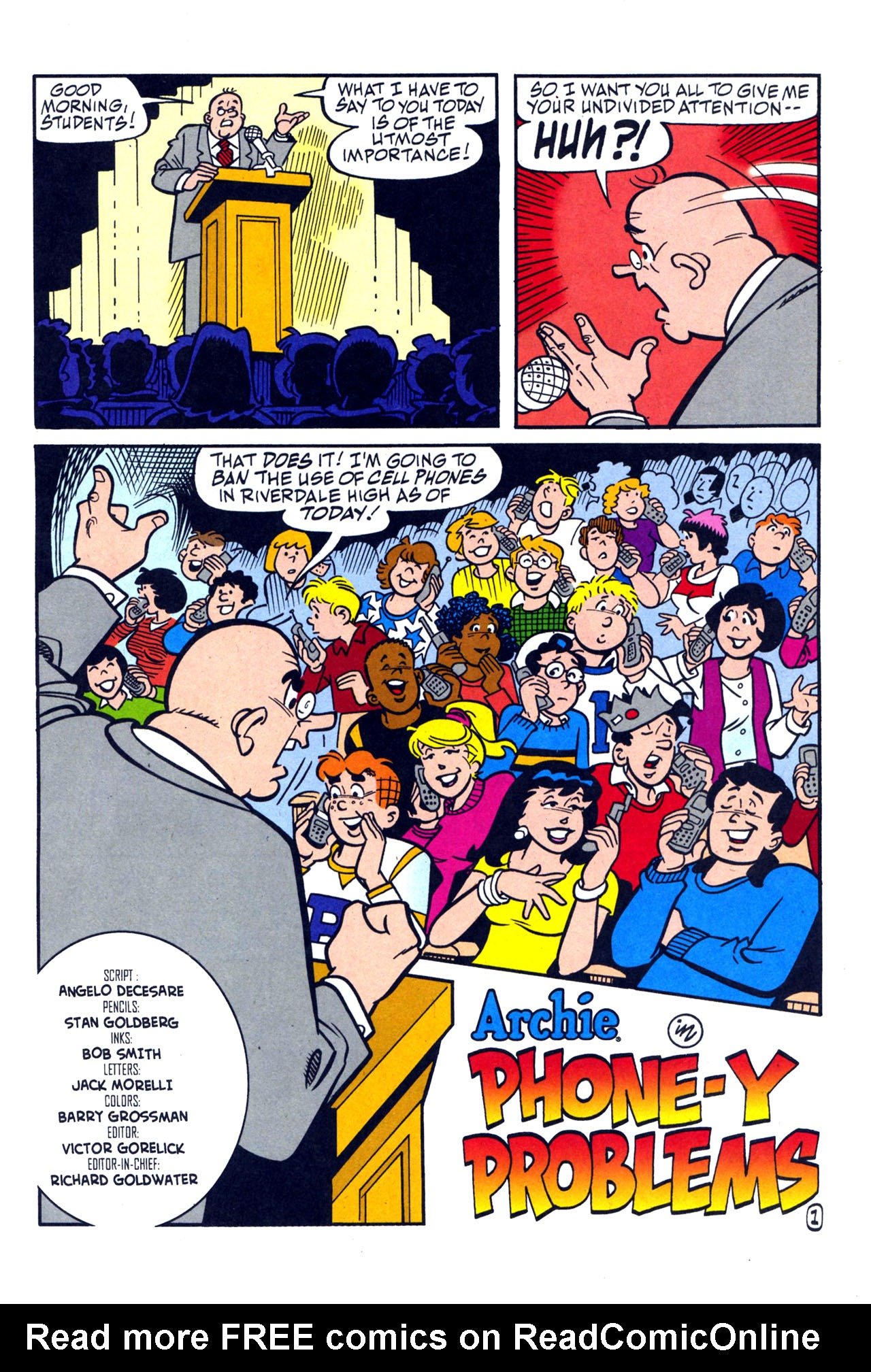 Read online Archie (1960) comic -  Issue #579 - 2