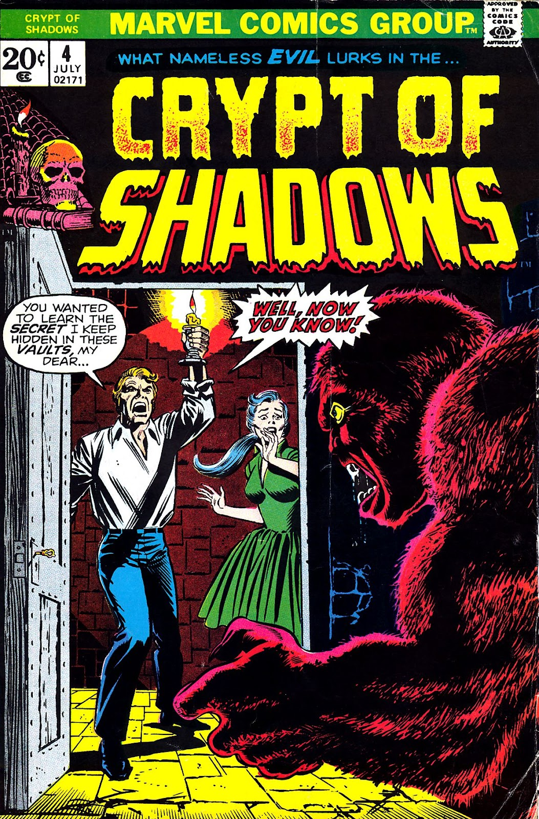 Crypt of Shadows (1973) 4 Page 1
