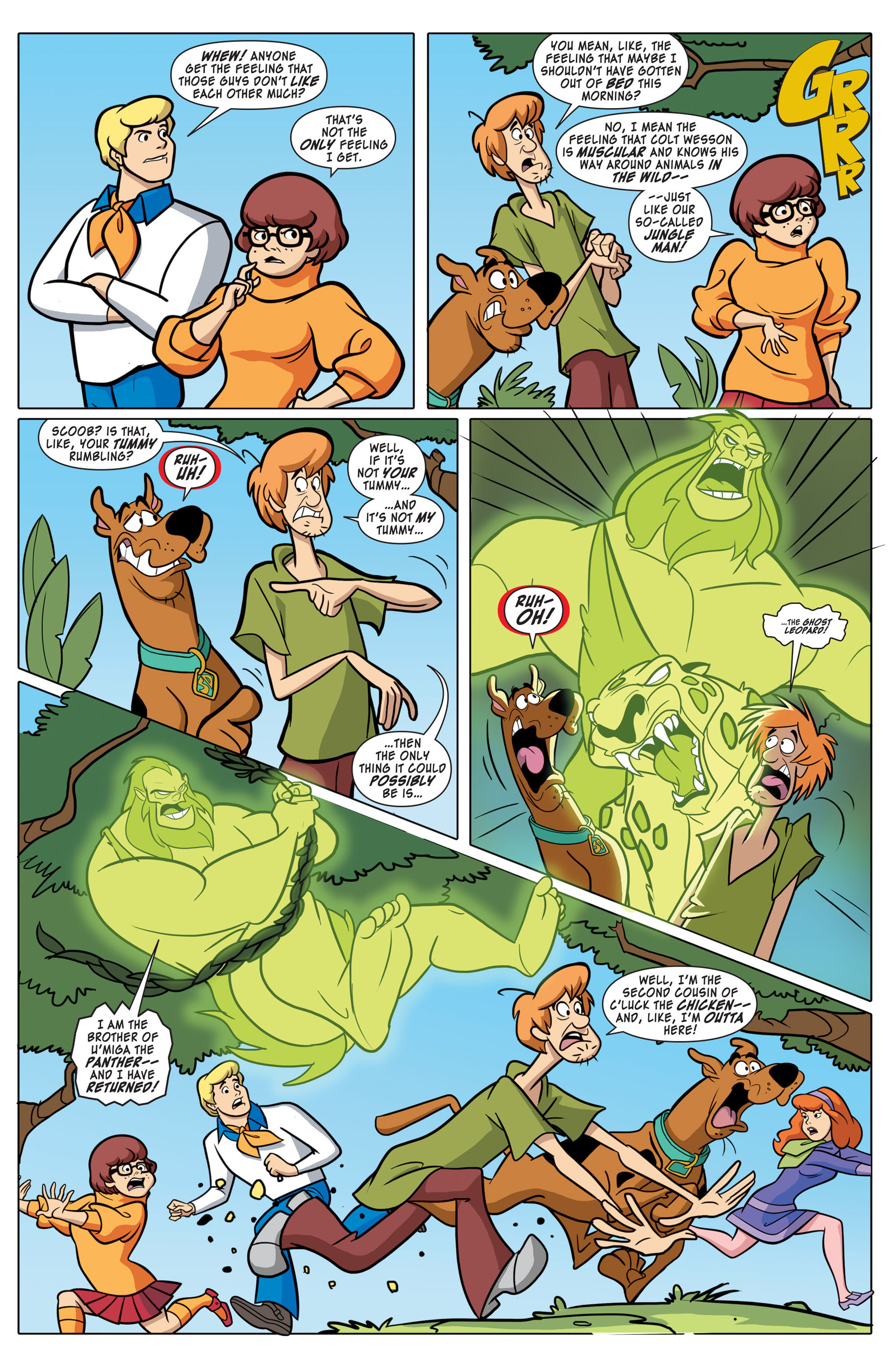 Read online Scooby-Doo: Where Are You? comic -  Issue #43 - 6