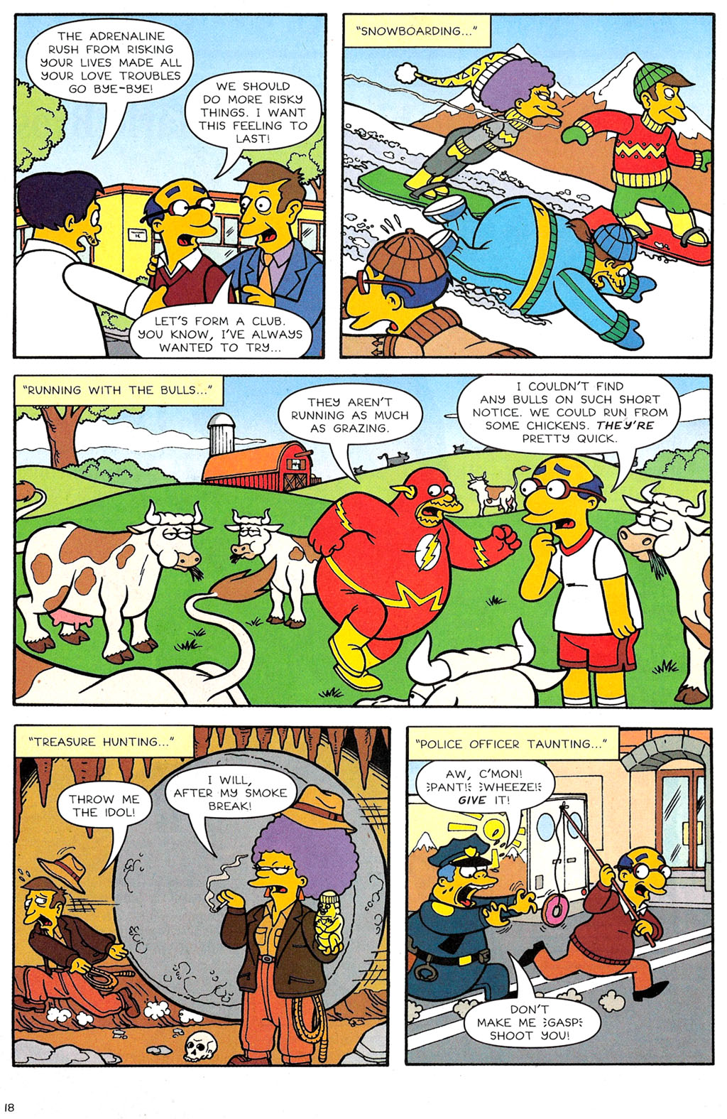 Read online Simpsons Comics comic -  Issue #118 - 14