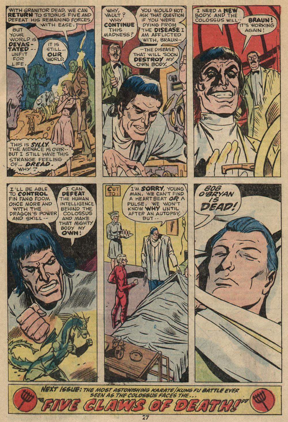 Read online Astonishing Tales (1970) comic -  Issue #23 - 18