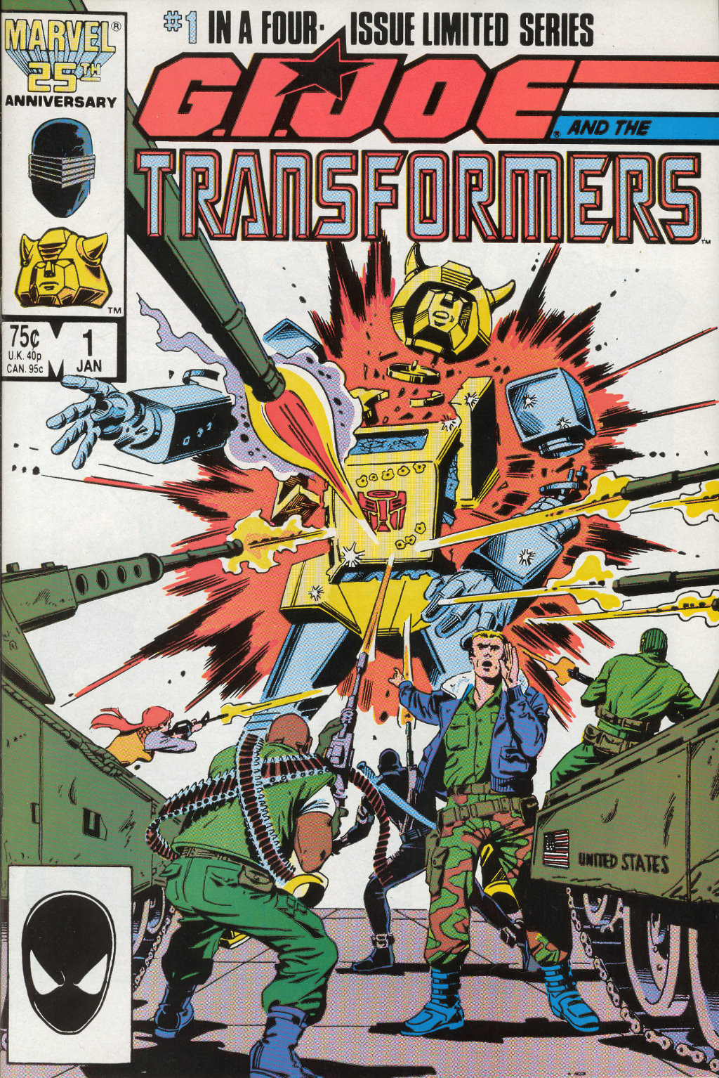 G.I. Joe and The Transformers issue 1 - Page 1