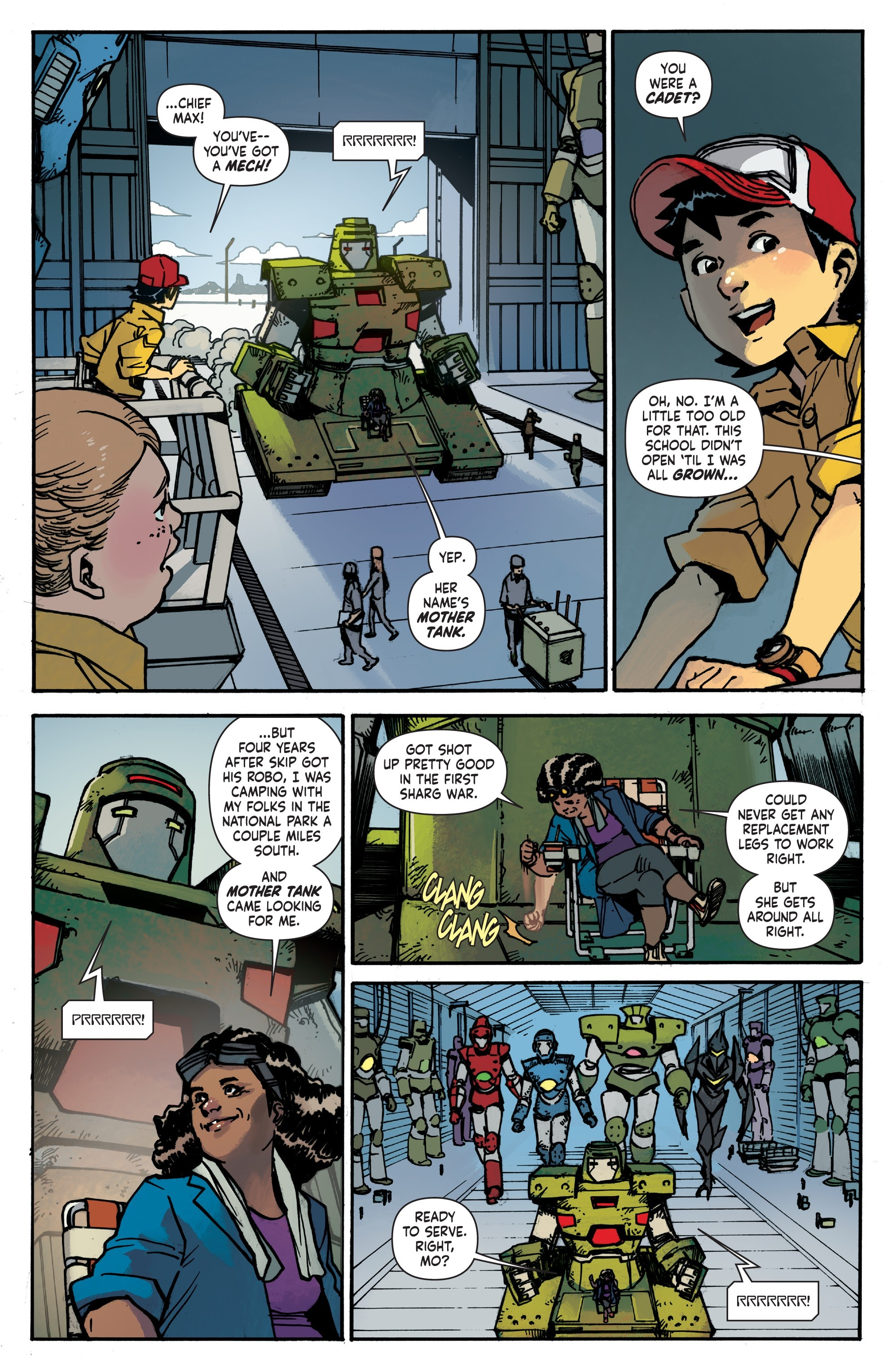 Mech Cadet Yu #_TPB_2 #15 - English 12