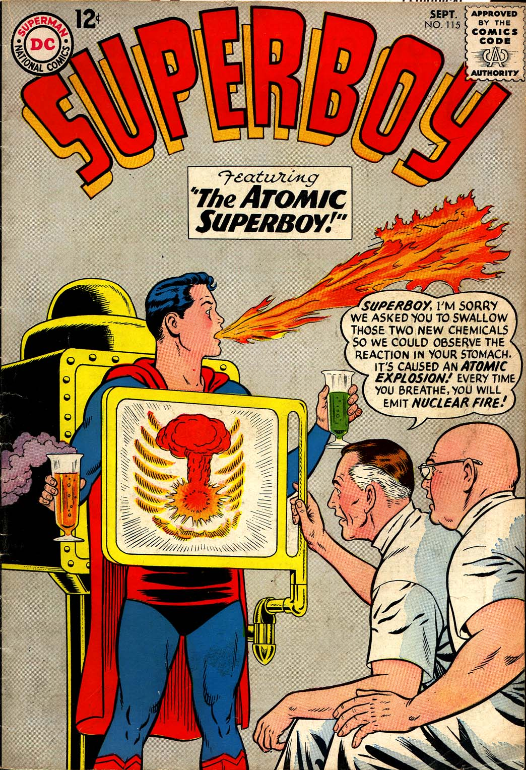 Superboy (1949) issue 115 - Page 1