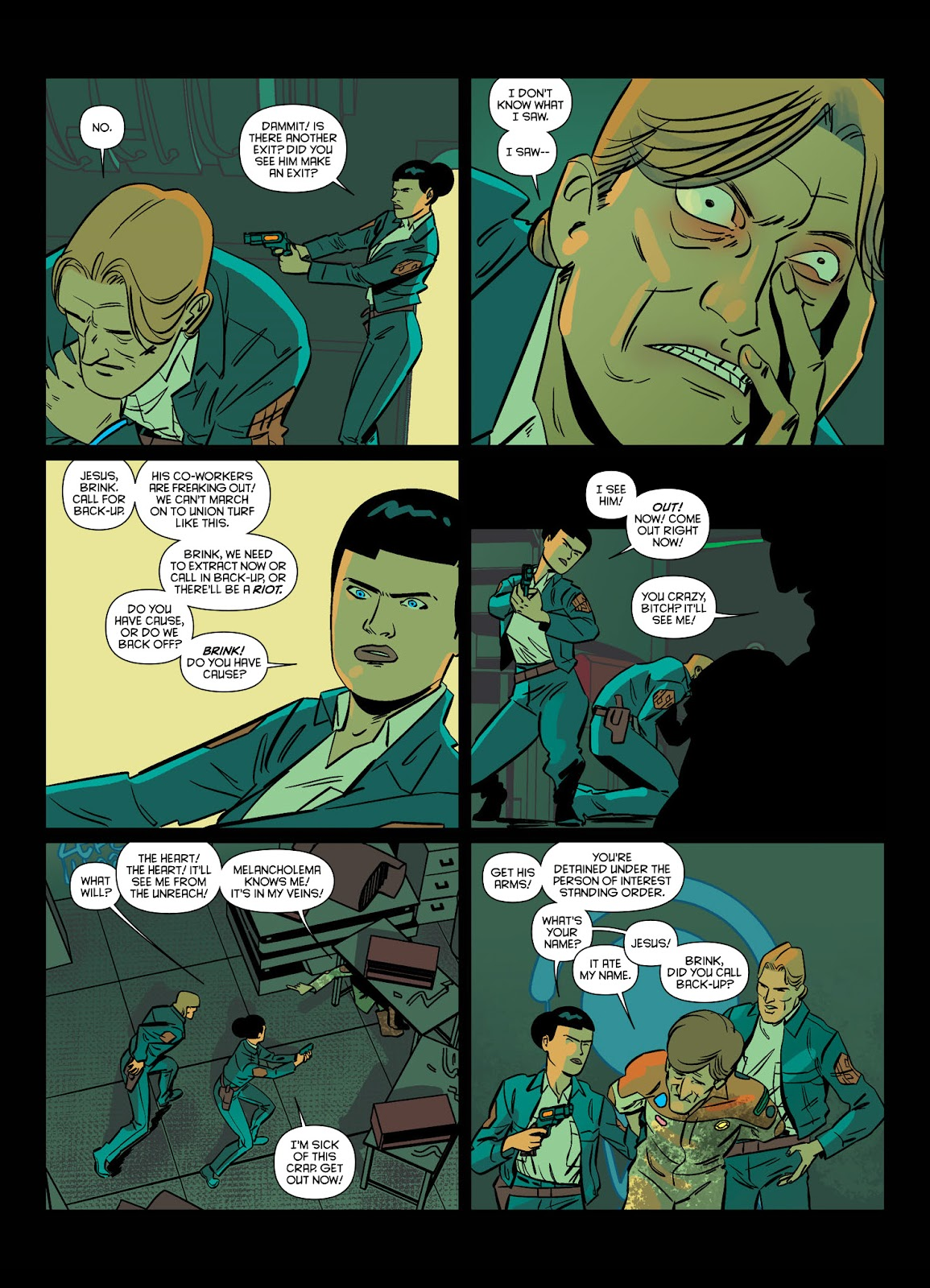Read online Brink comic -  Issue # TPB 1 - 37