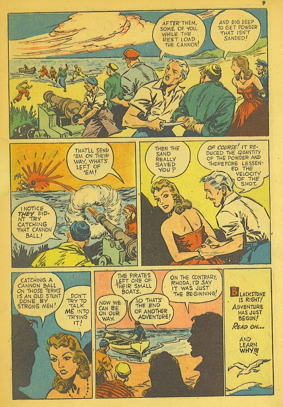 Read online Super-Magician Comics comic -  Issue #19 - 9