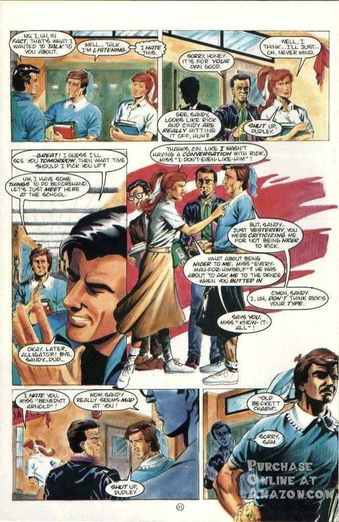 Read online Quantum Leap comic -  Issue #6 - 12