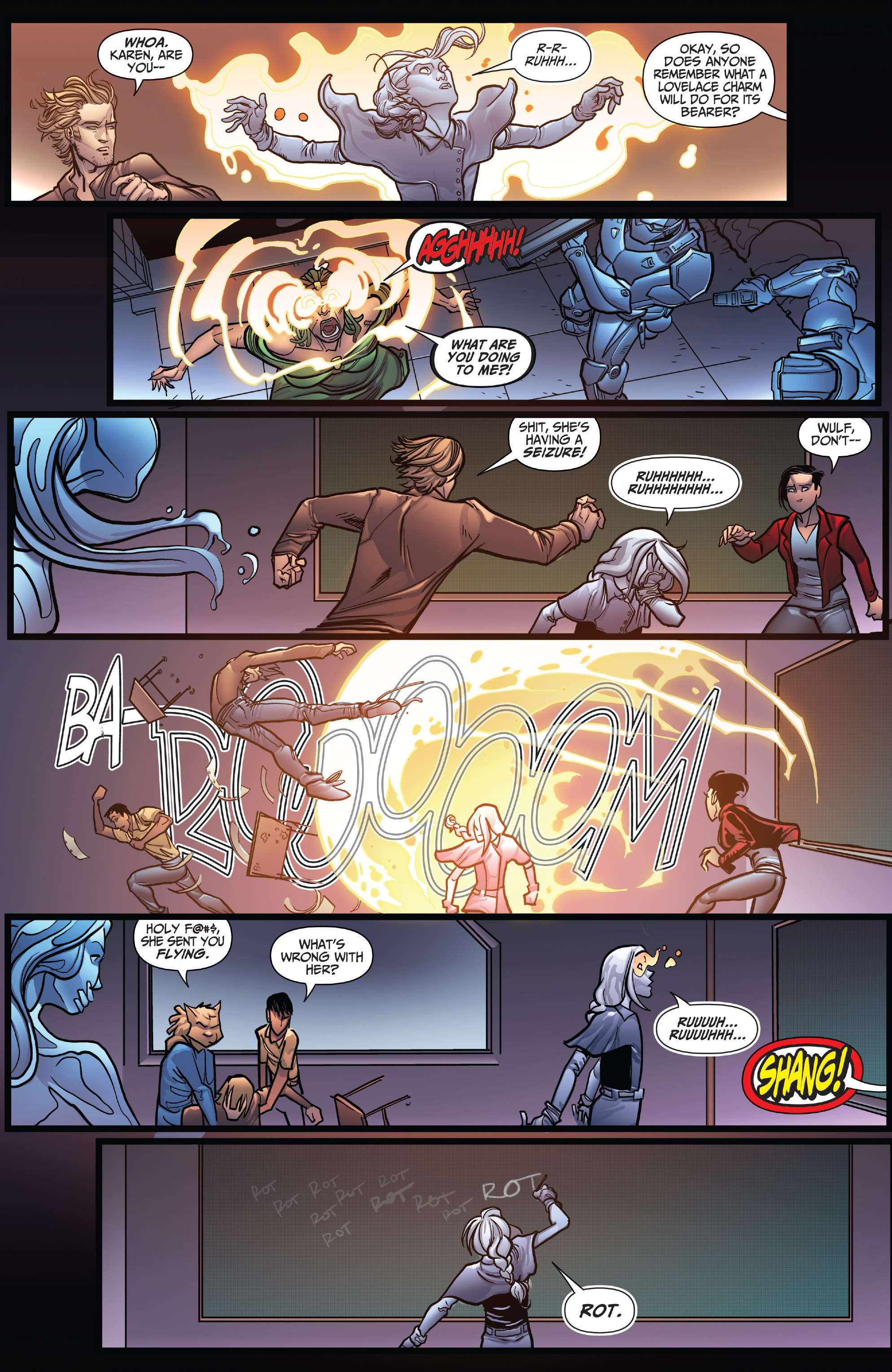 Read online Grimm Fairy Tales: Arcane Acre comic -  Issue # TPB 4 - 13