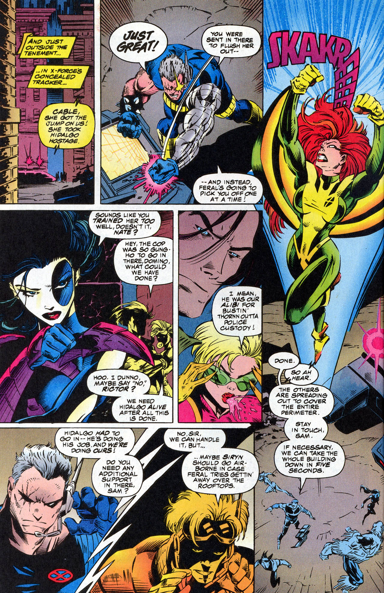 Read online X-Force (1991) comic -  Issue #41 - 8