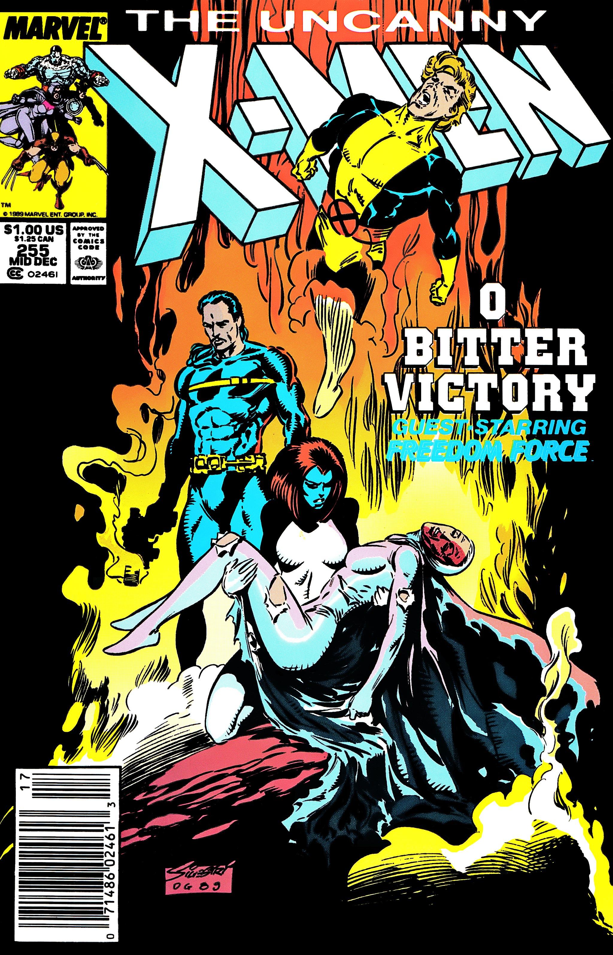 Uncanny X-Men (1963) 255 Page 1
