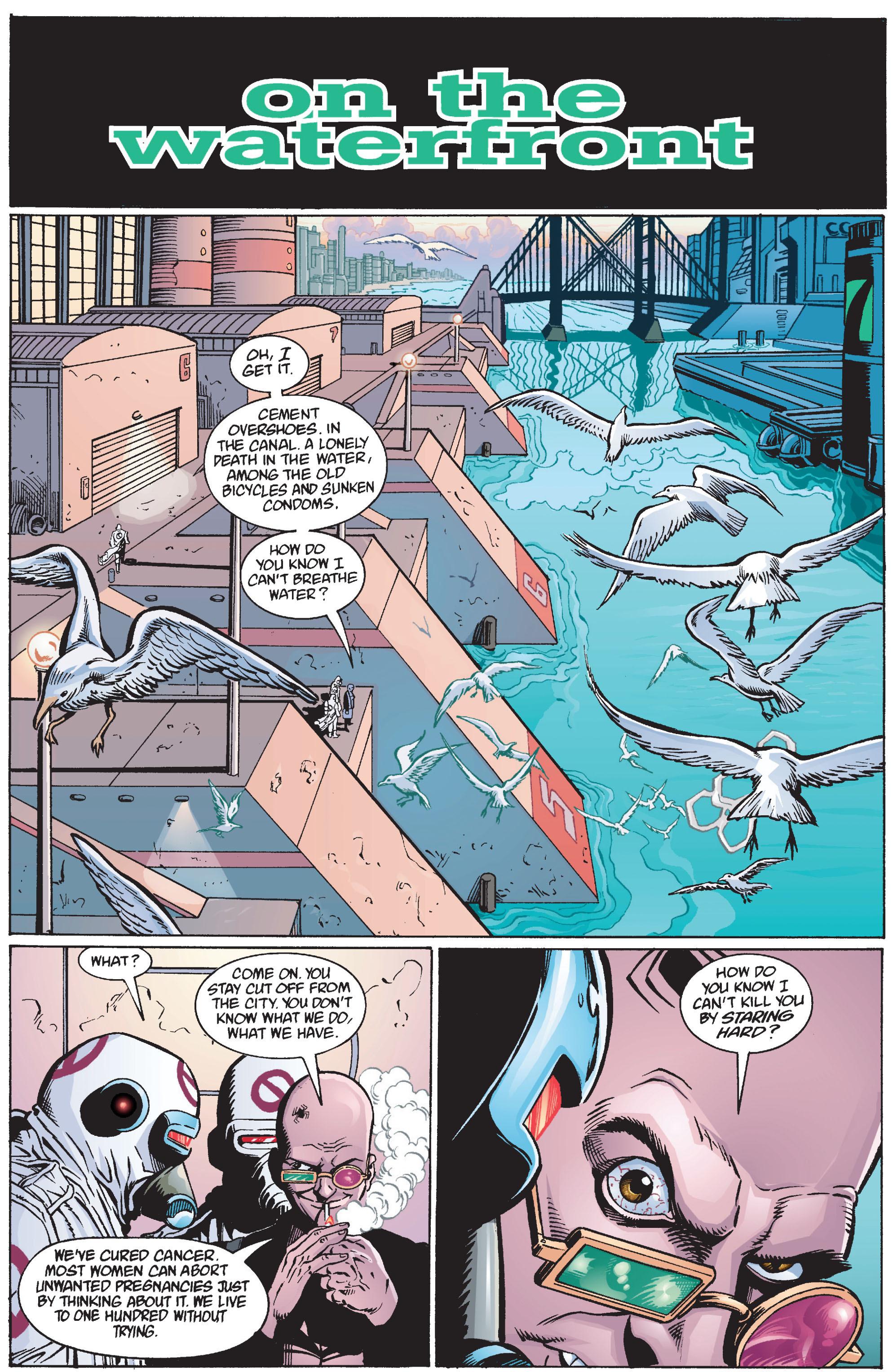 Read online Transmetropolitan comic -  Issue #12 - 13