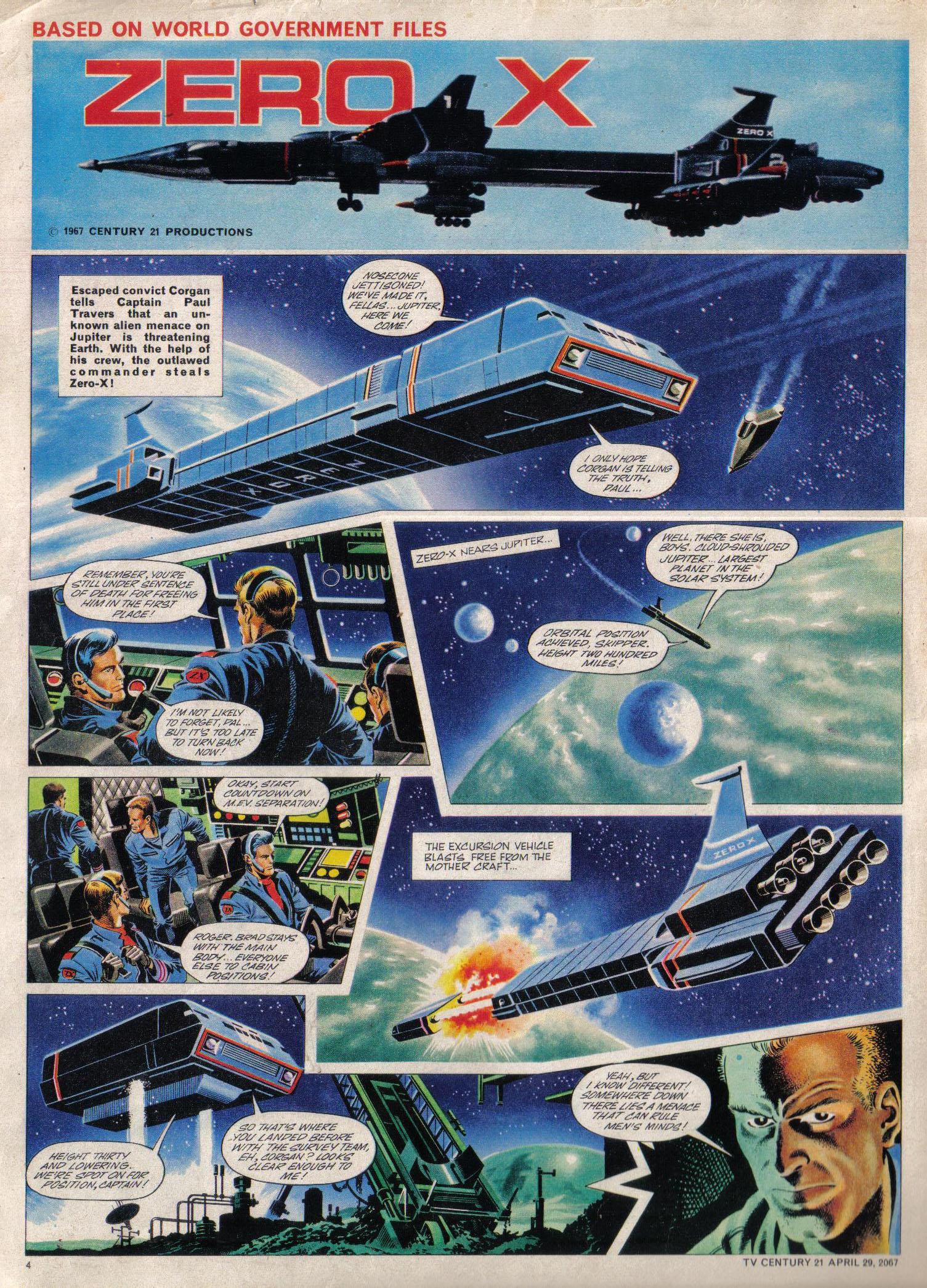Read online TV Century 21 (TV 21) comic -  Issue #119 - 4