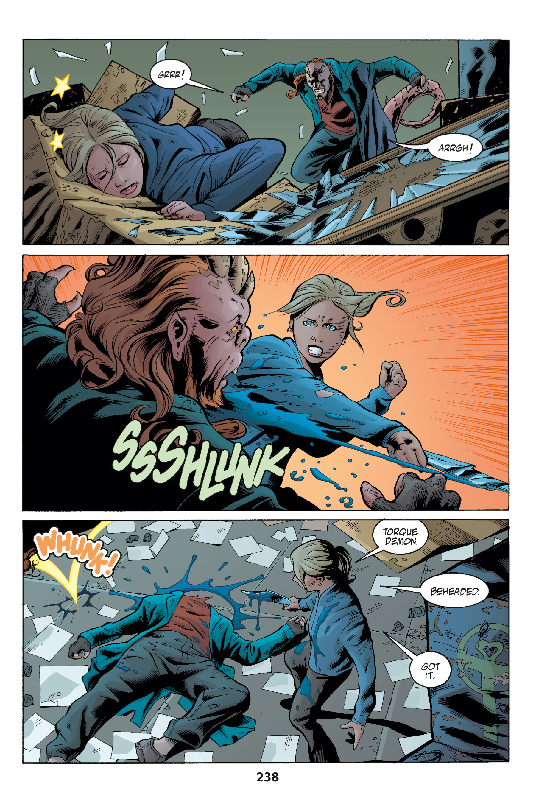 Read online Buffy the Vampire Slayer: Omnibus comic -  Issue # TPB 1 - 233