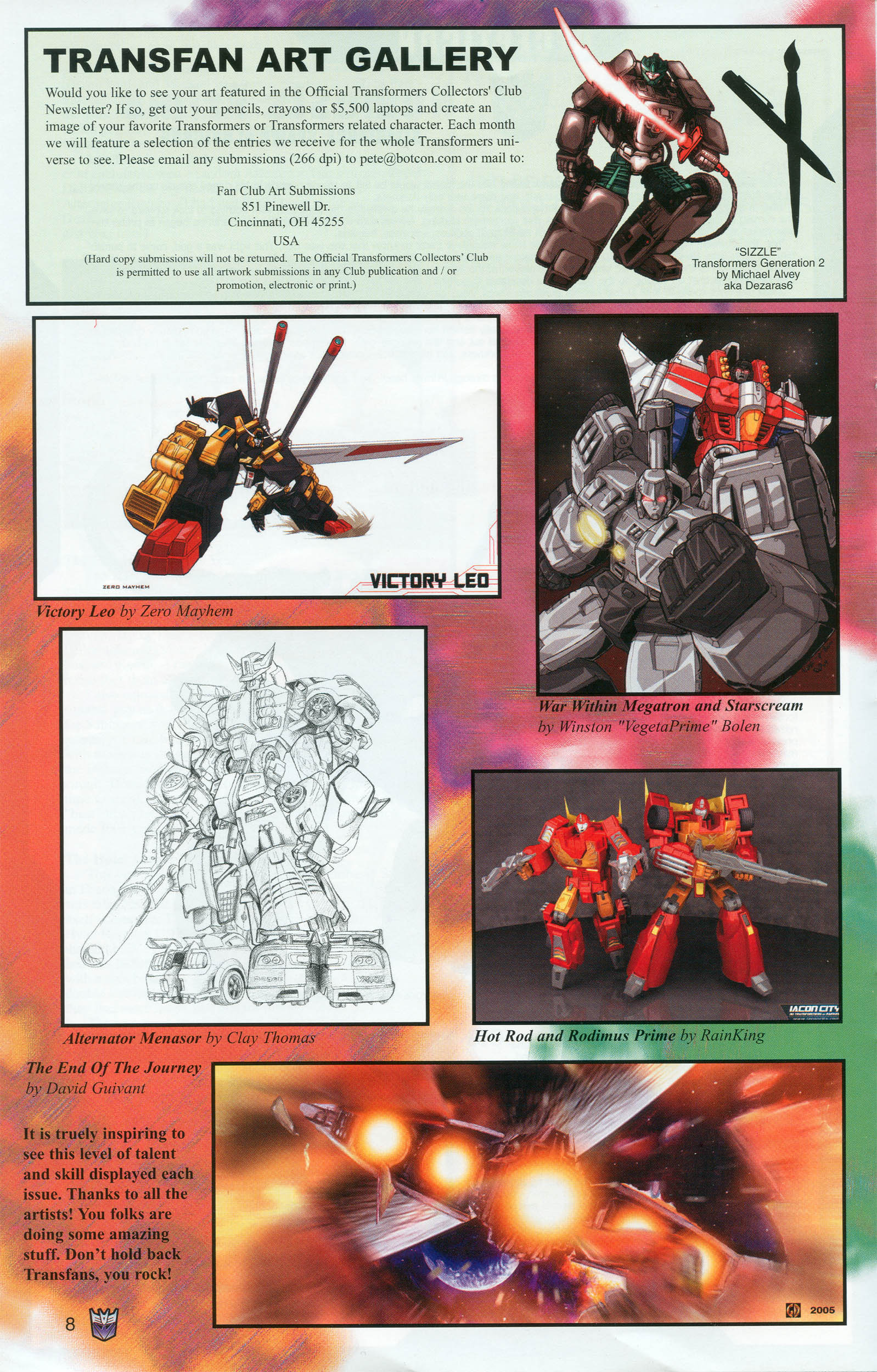Read online Transformers: Collectors' Club comic -  Issue #6 - 8