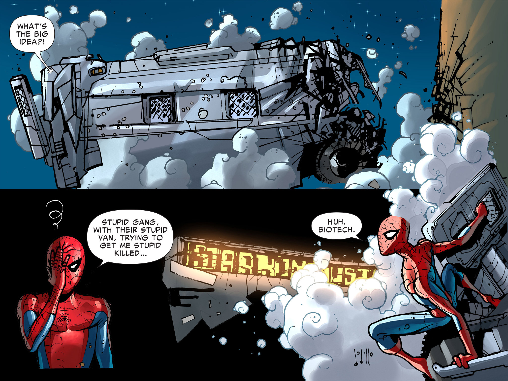 Read online Amazing Spider-Man: Who Am I? comic -  Issue # Full (Part 1) - 127