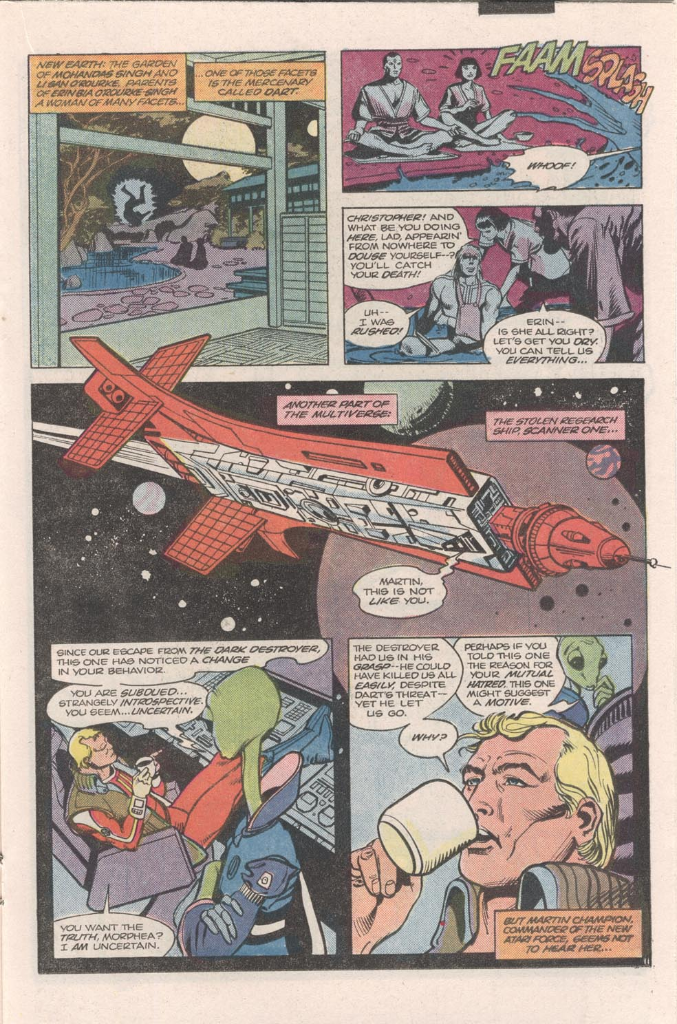 Read online Atari Force (1984) comic -  Issue #9 - 12