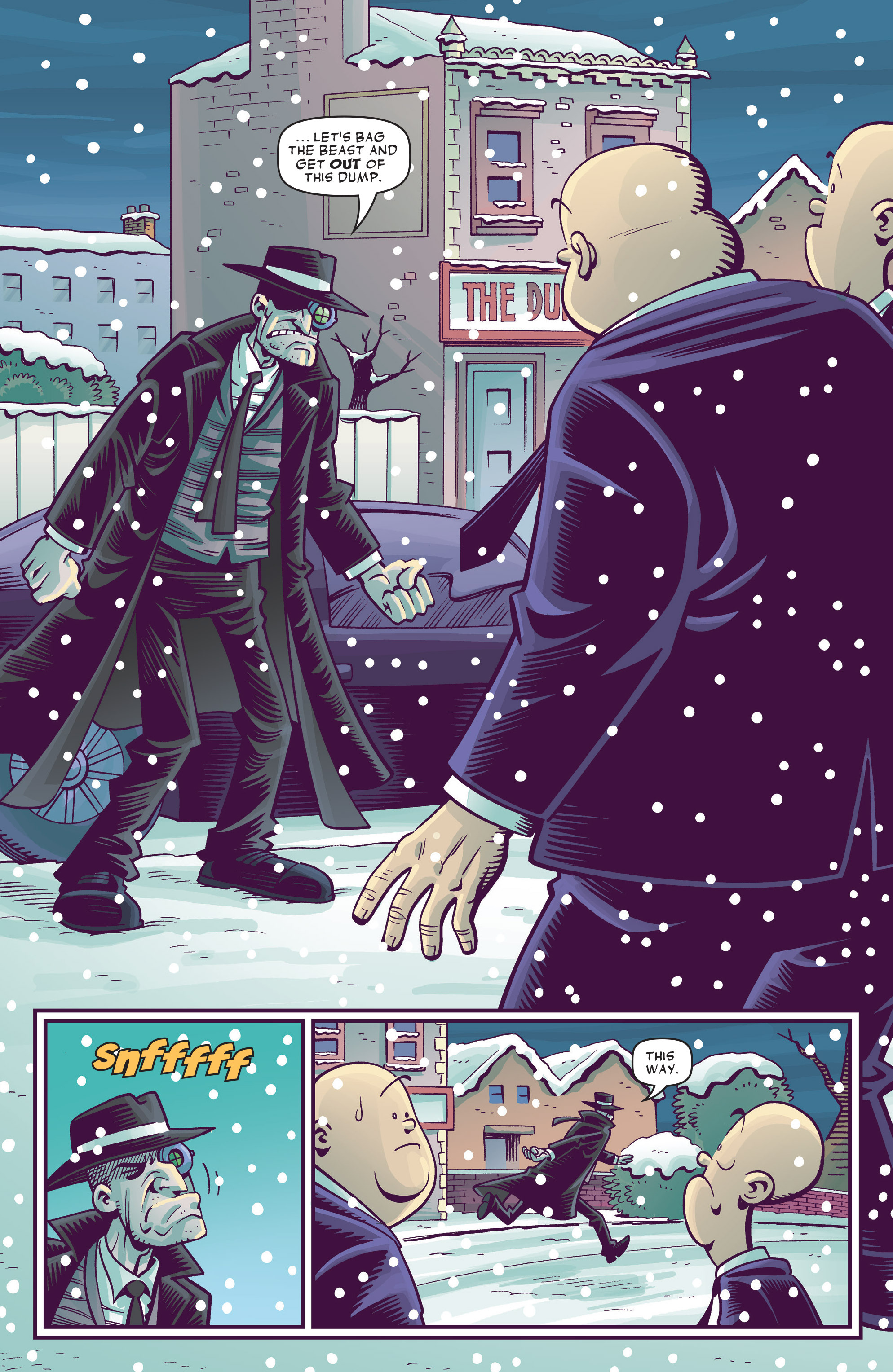 Read online Abigail And The Snowman comic -  Issue #3 - 13