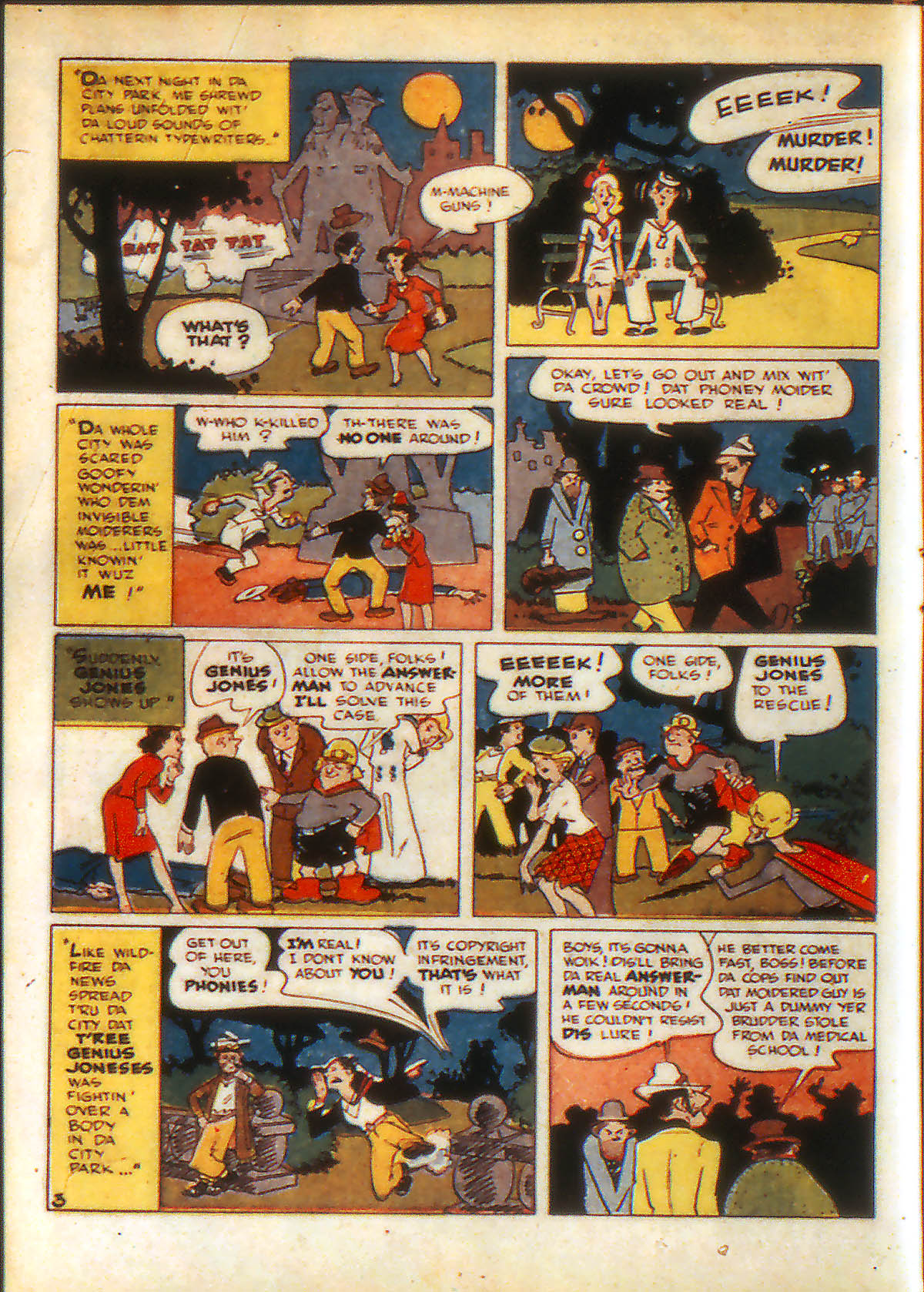 Read online Adventure Comics (1938) comic -  Issue #88 - 16