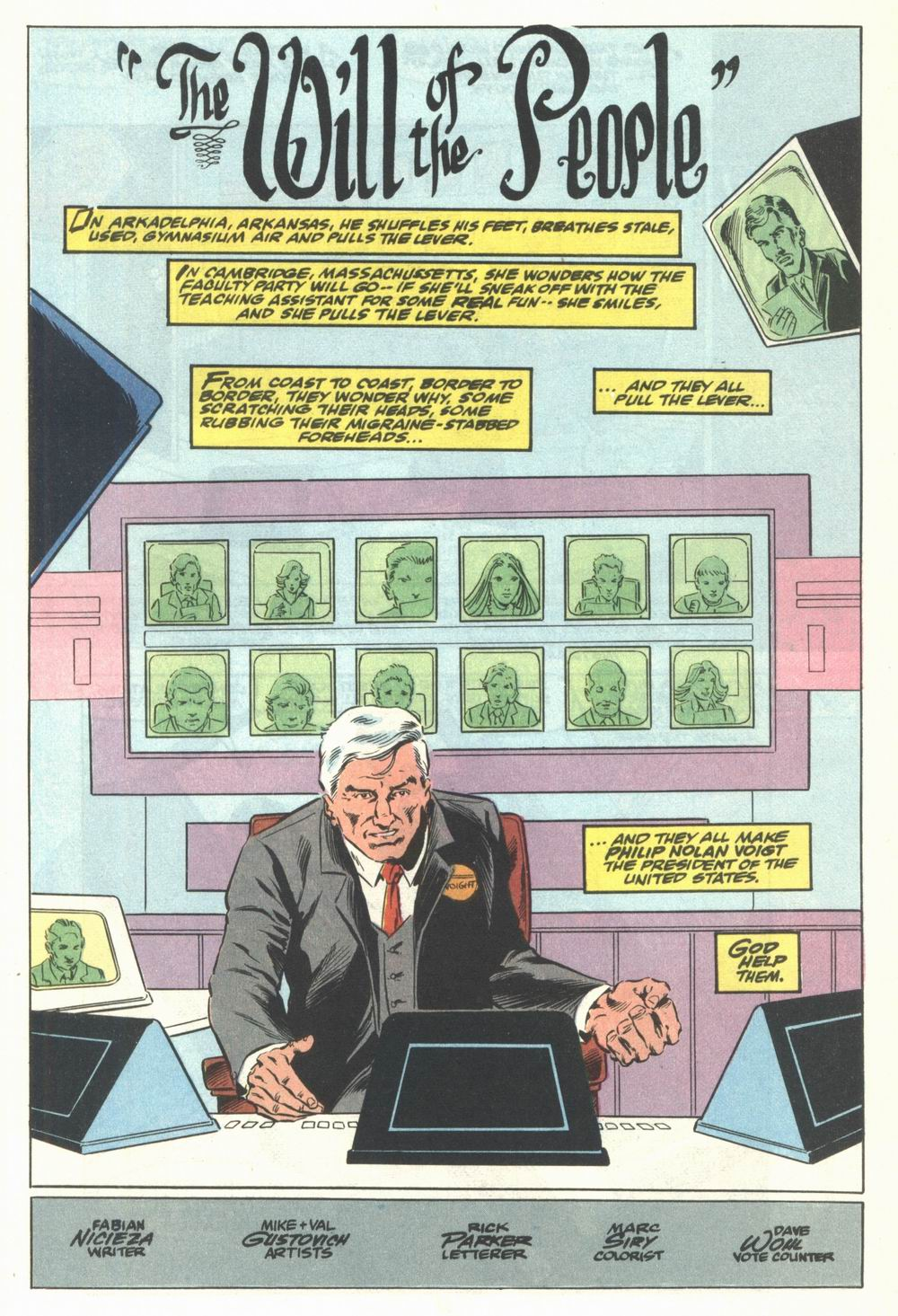 Read online Justice (1986) comic -  Issue #29 - 24