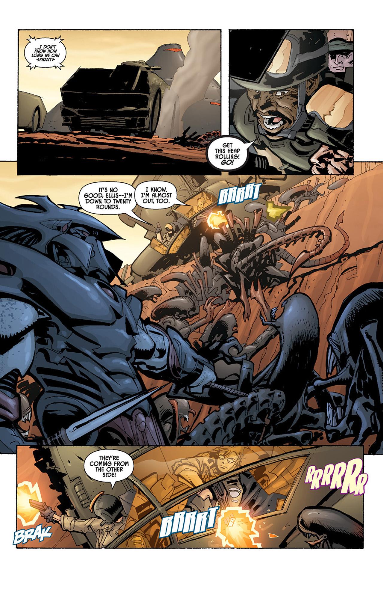 Read online Aliens vs. Predator: Three World War comic -  Issue #4 - 20