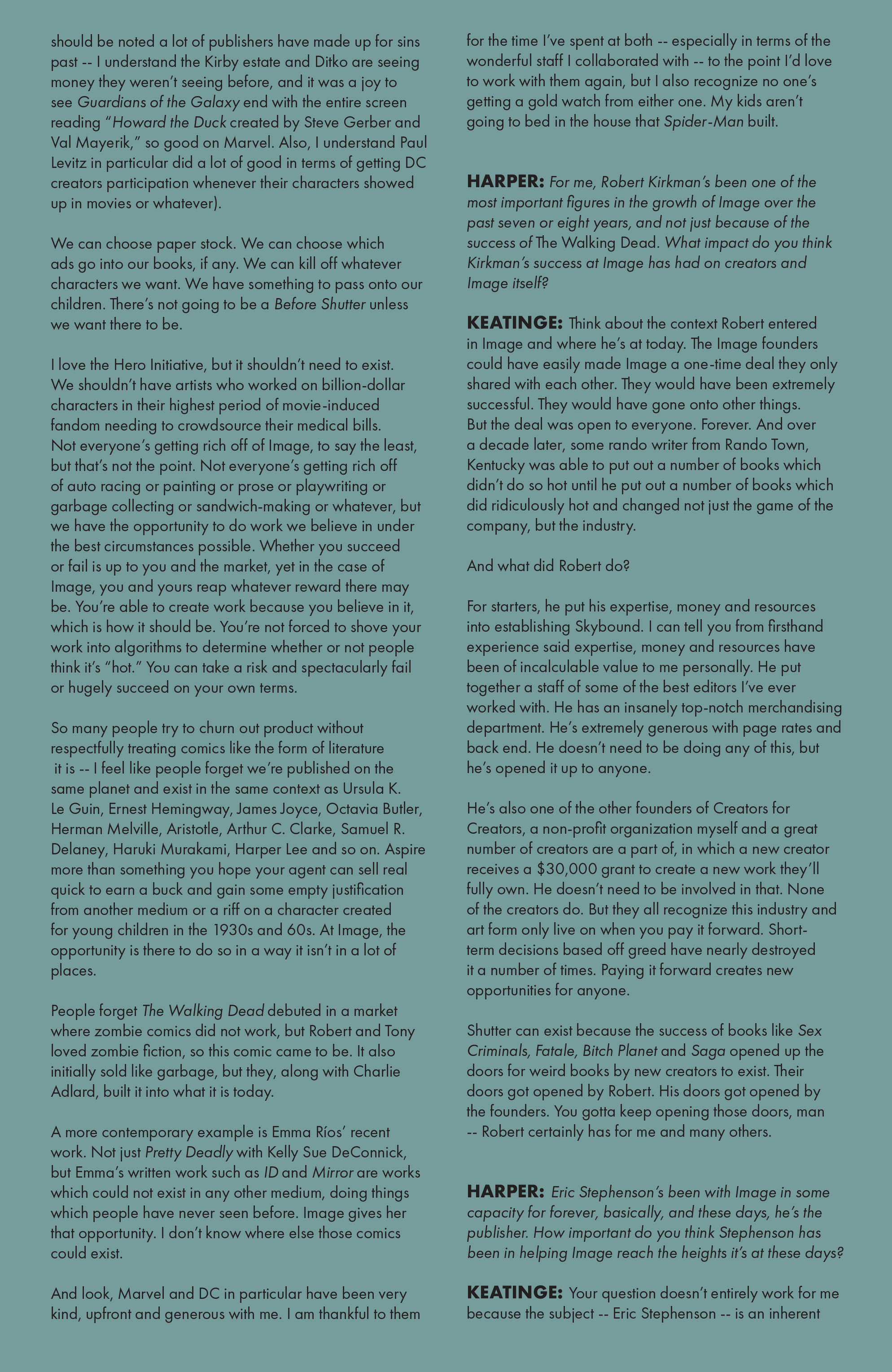 Read online Shutter comic -  Issue #25 - 20