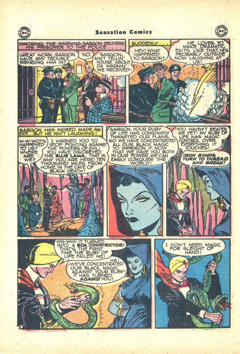 Read online Sensation (Mystery) Comics comic -  Issue #68 - 34