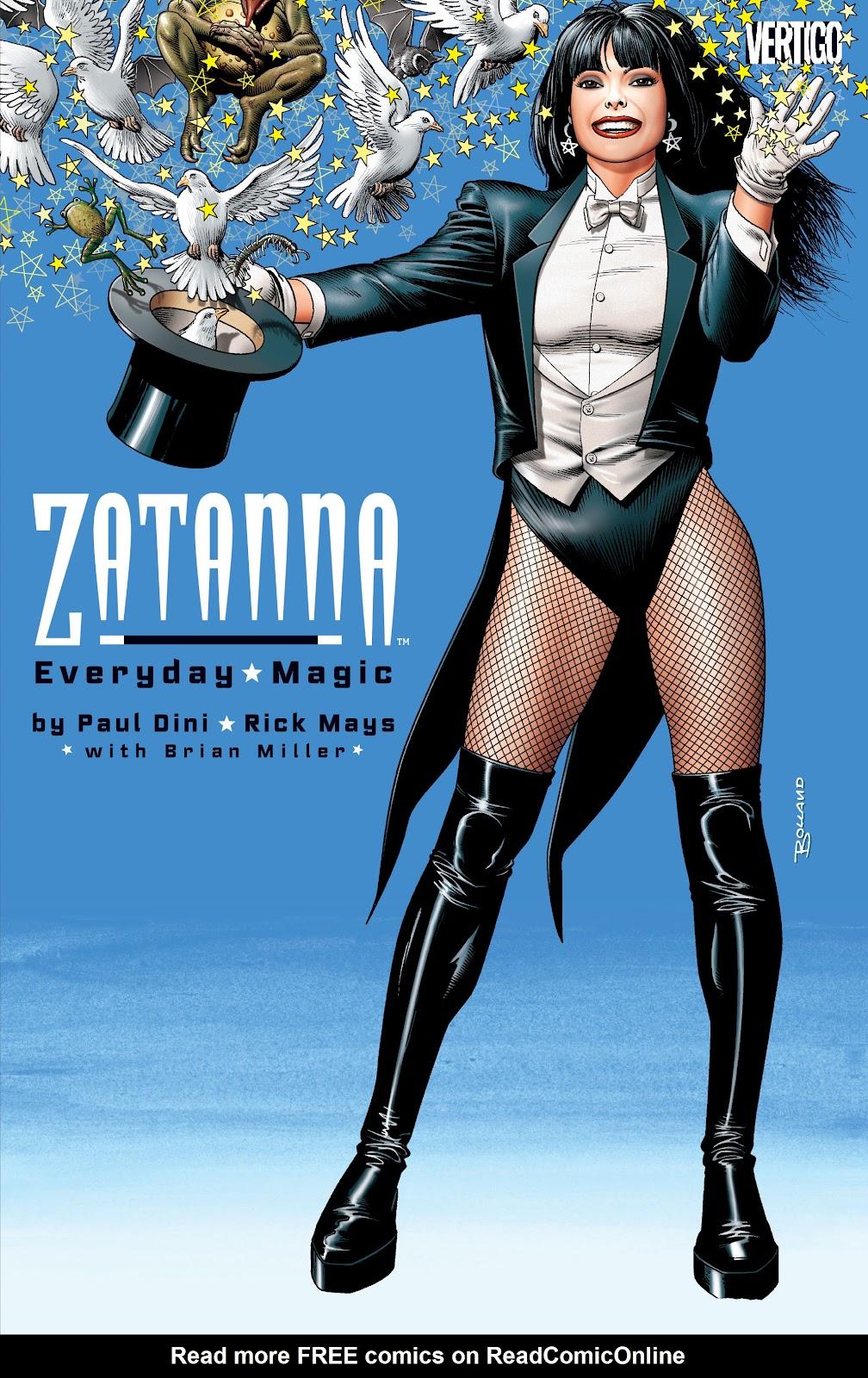 Zatanna - Everyday Magic issue 1 - Page 1