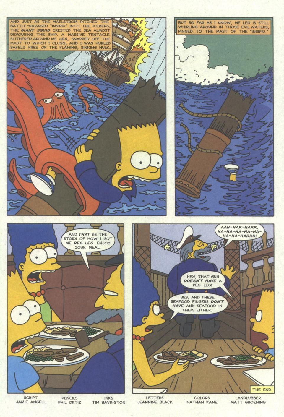 Read online Simpsons Comics comic -  Issue #27 - 30