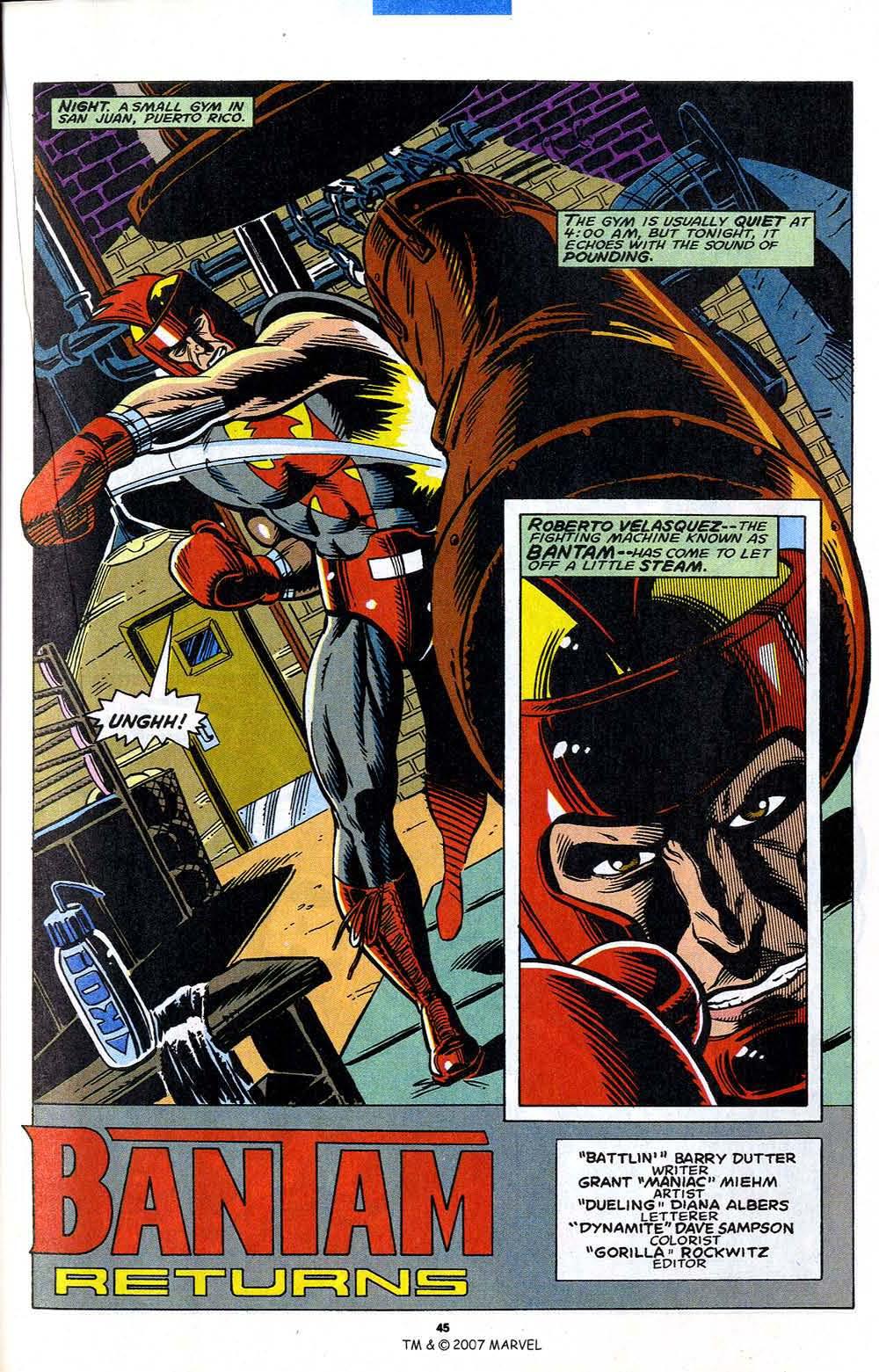 Read online Captain America (1968) comic -  Issue # _Annual 12 - 47