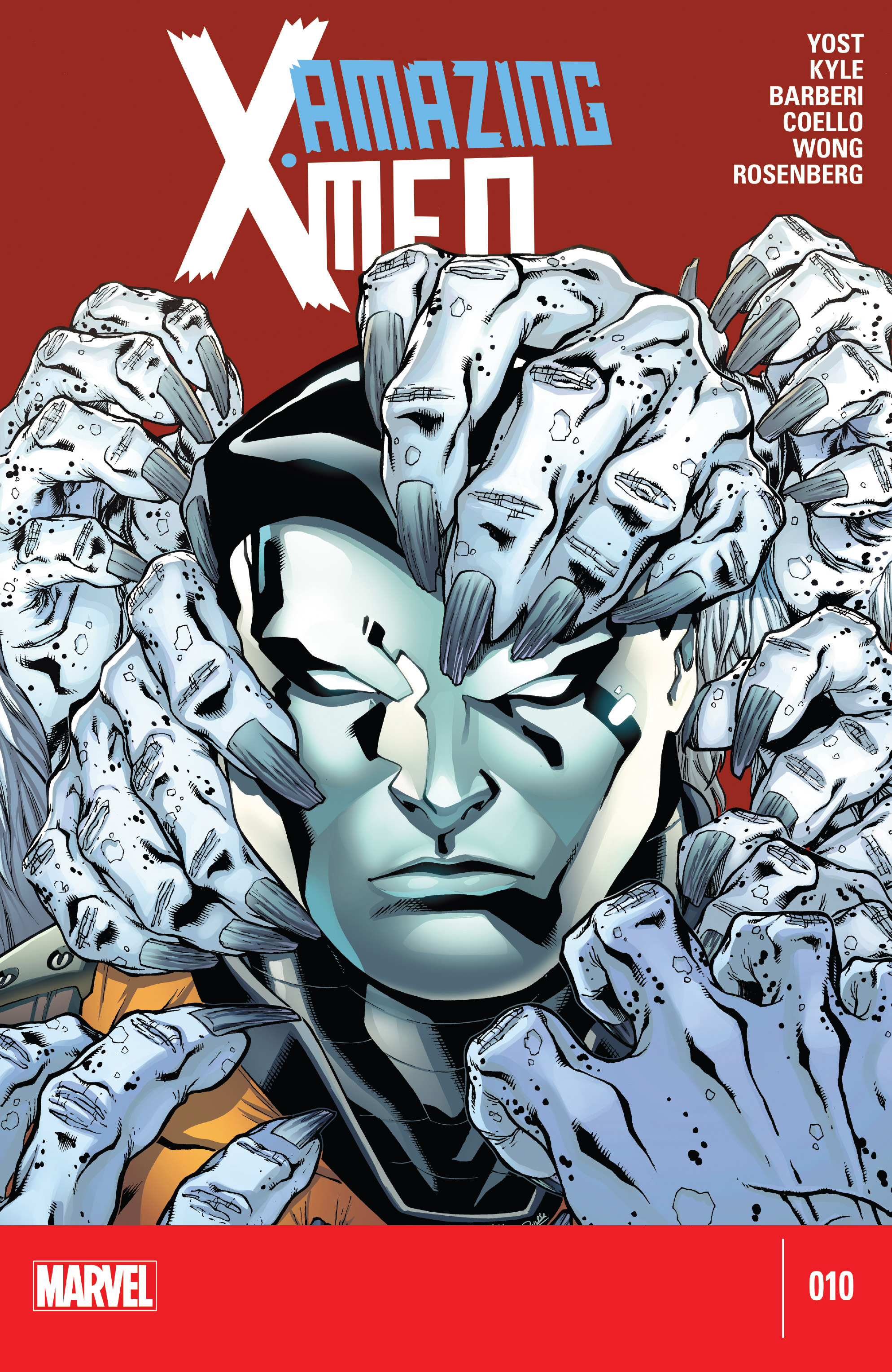Read online Amazing X-Men (2014) comic -  Issue #10 - 1