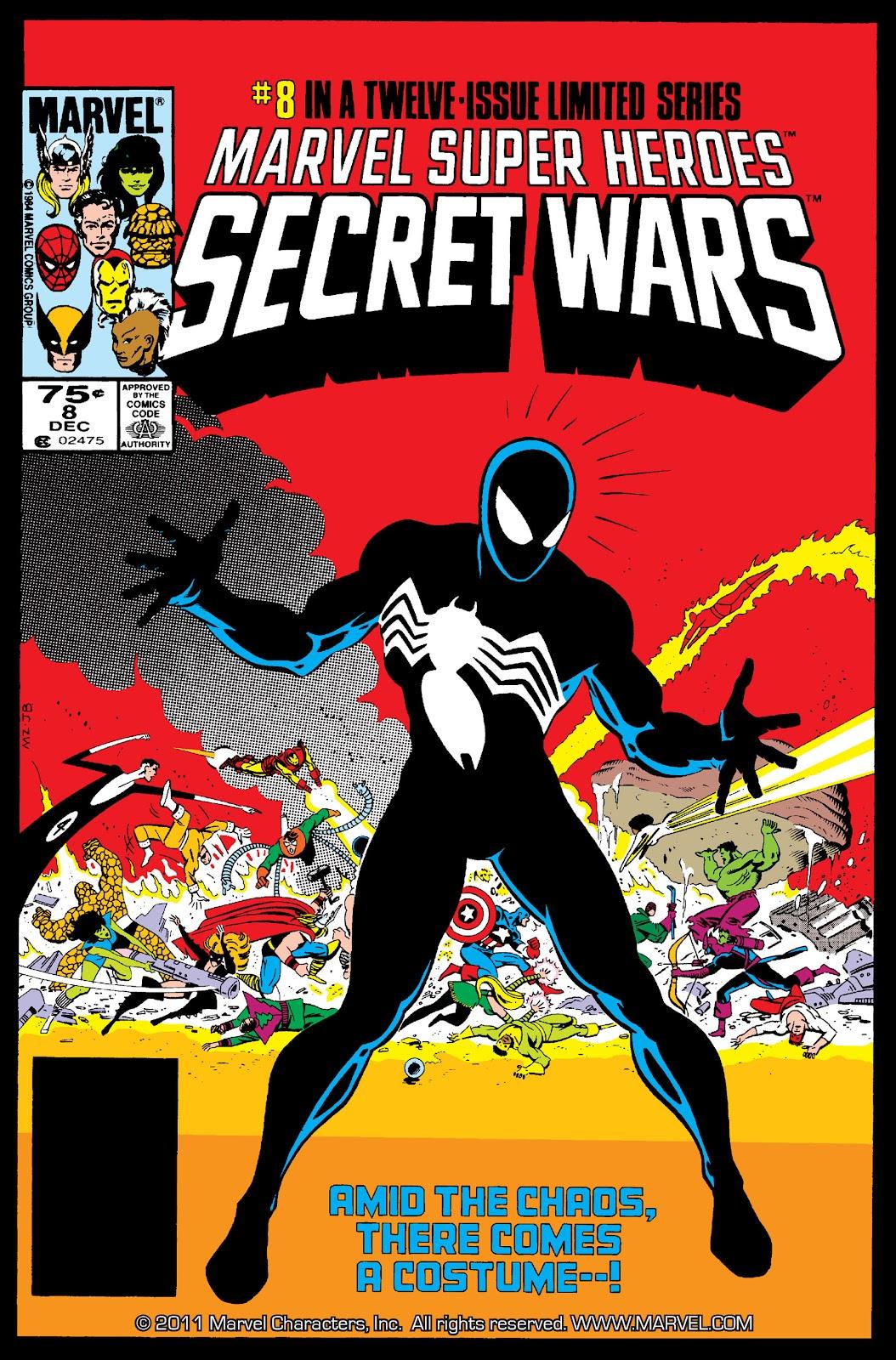 Marvel Super Heroes Secret Wars (1984) 8 Page 1