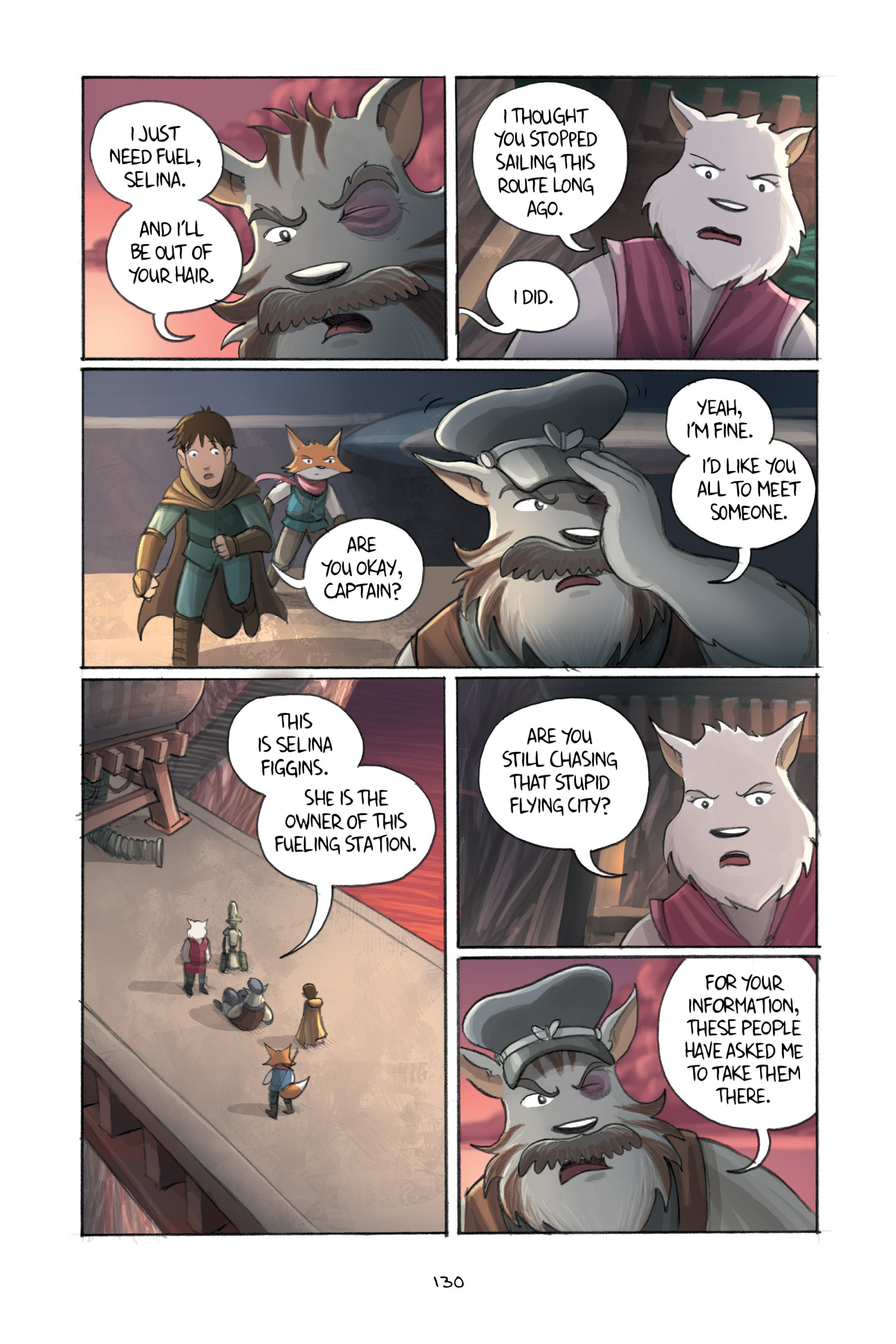 Read online Amulet comic -  Issue #3 - 127