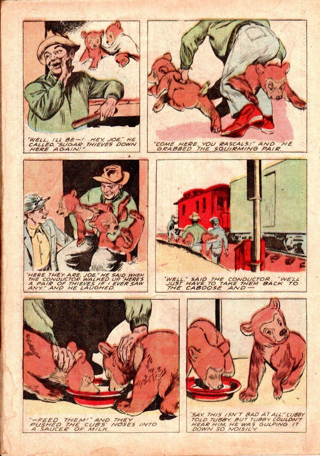 Read online Animal Comics comic -  Issue #19 - 24