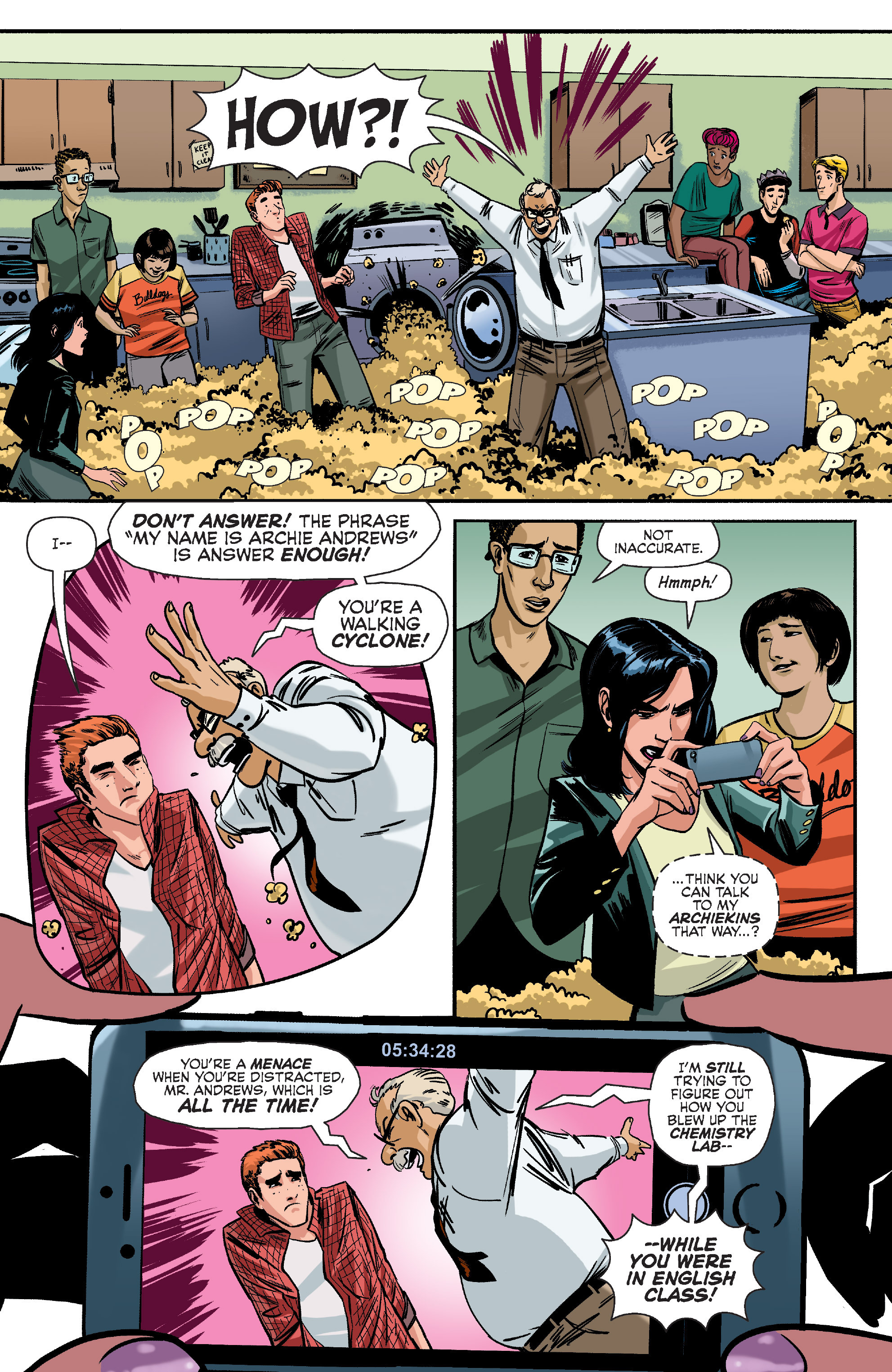 Read online Archie (2015) comic -  Issue #10 - 6