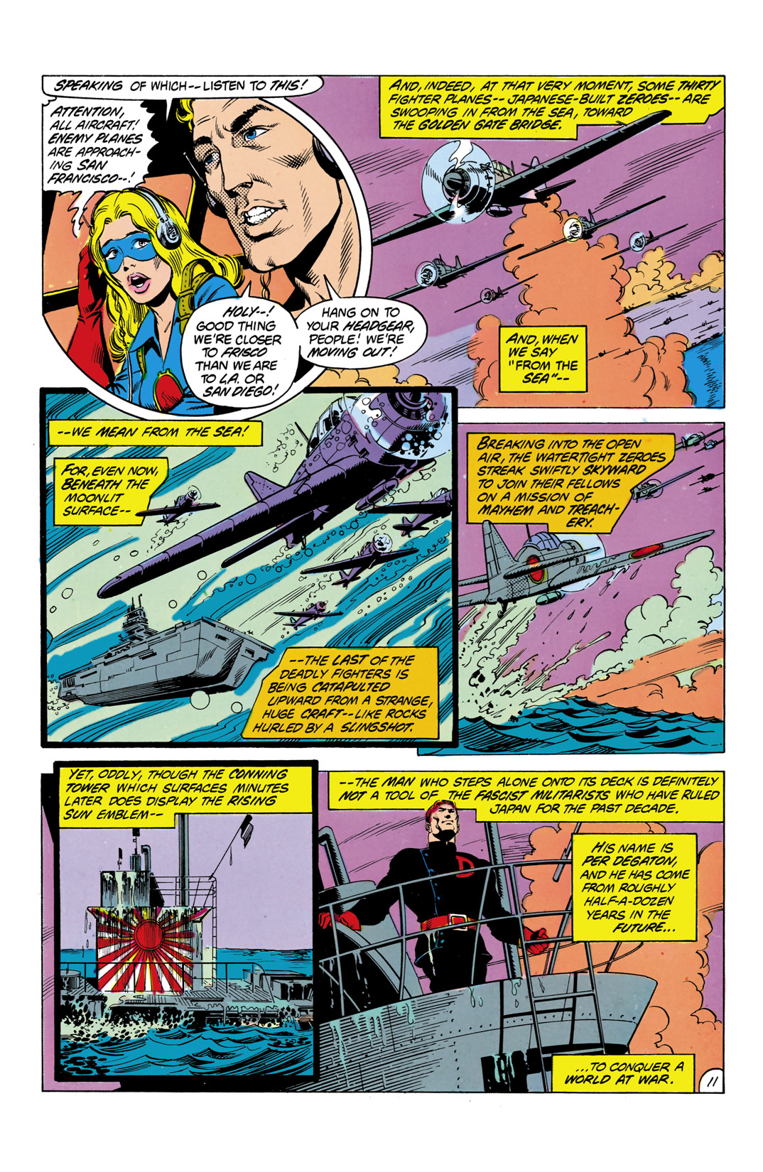 Read online All-Star Squadron comic -  Issue #2 - 12