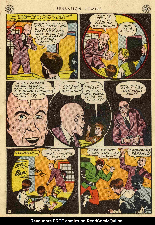 Read online Sensation (Mystery) Comics comic -  Issue #42 - 38