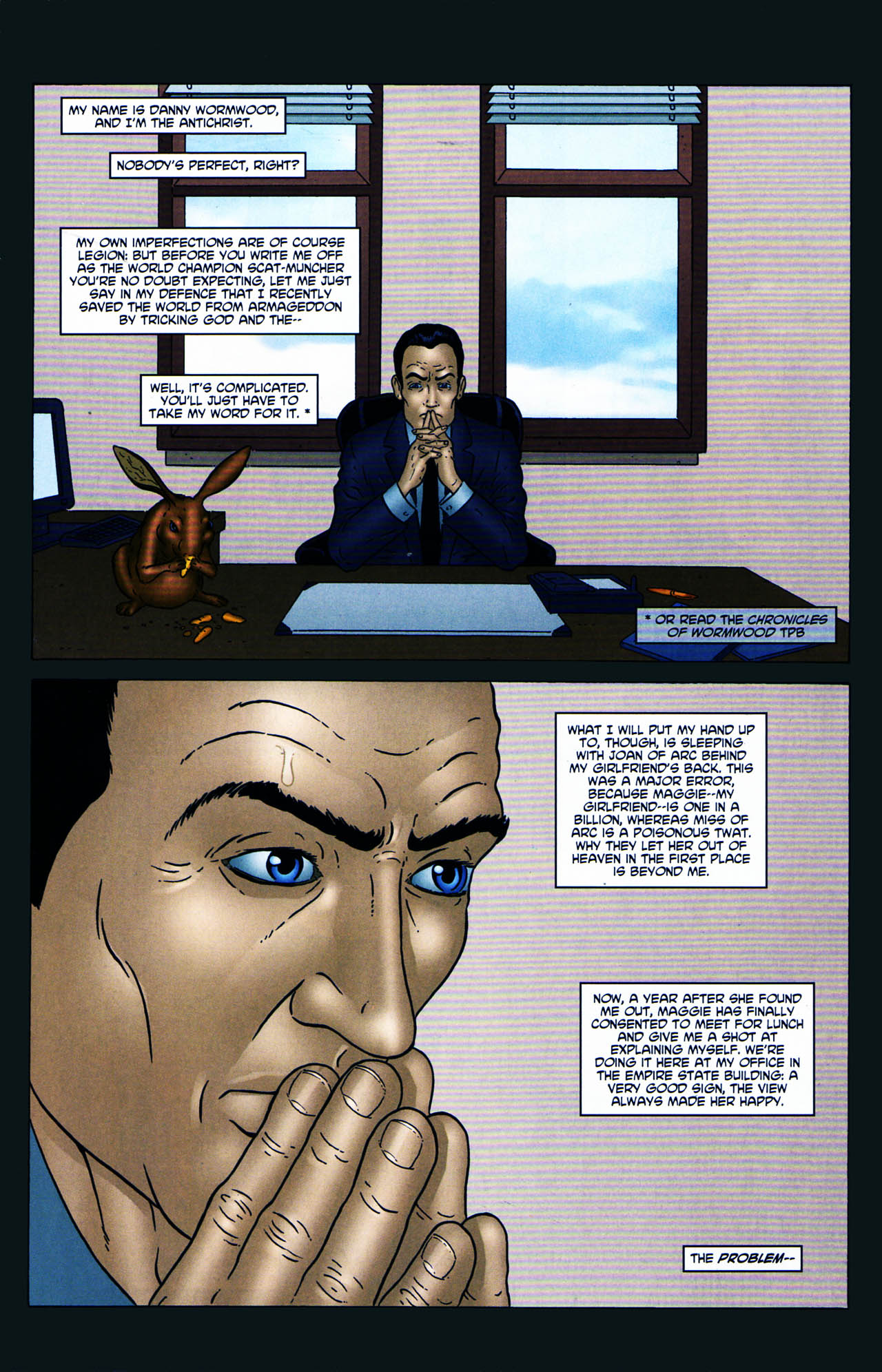 Read online Chronicles of Wormwood: The Last Enemy comic -  Issue # Full - 5