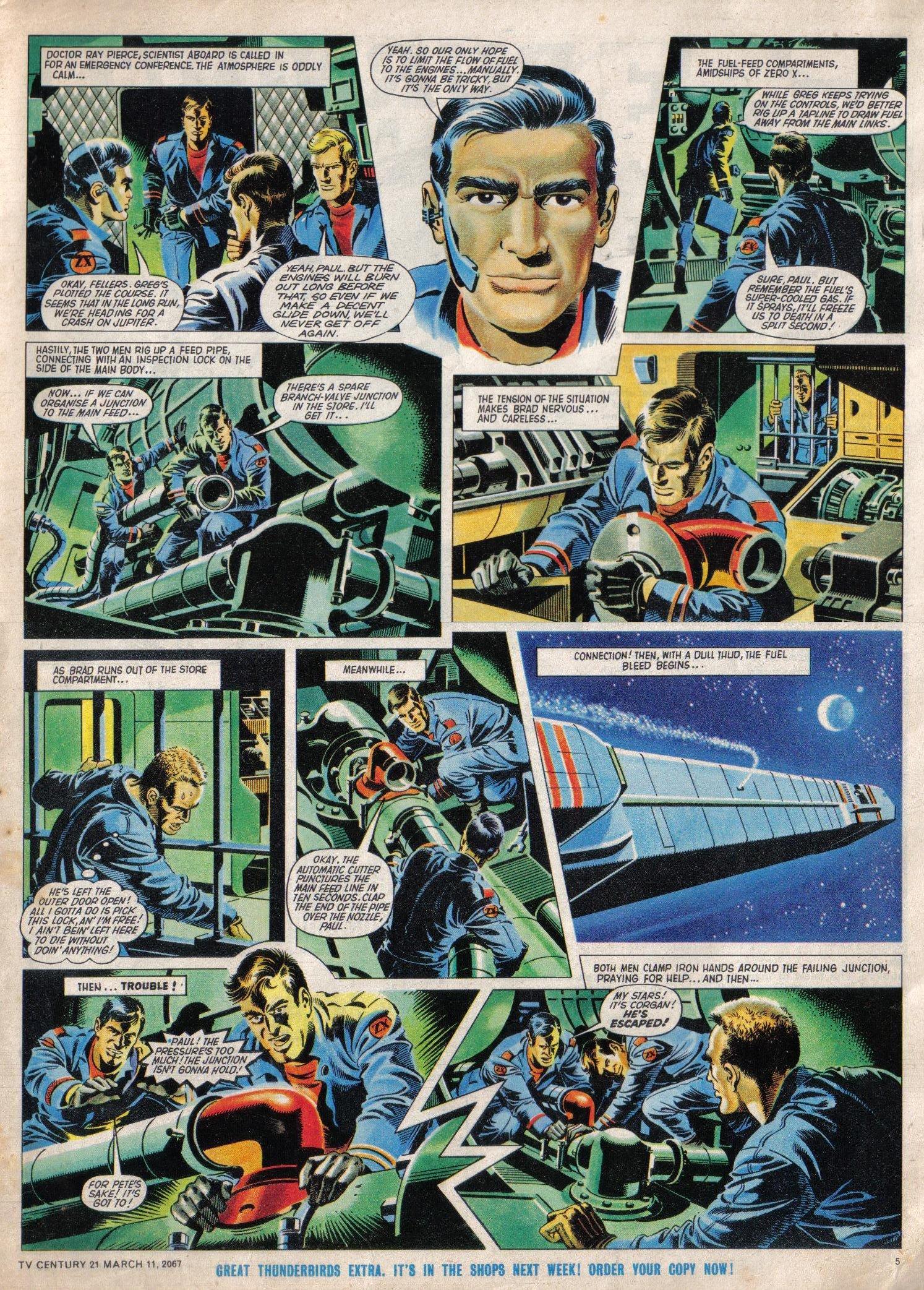 Read online TV Century 21 (TV 21) comic -  Issue #112 - 5