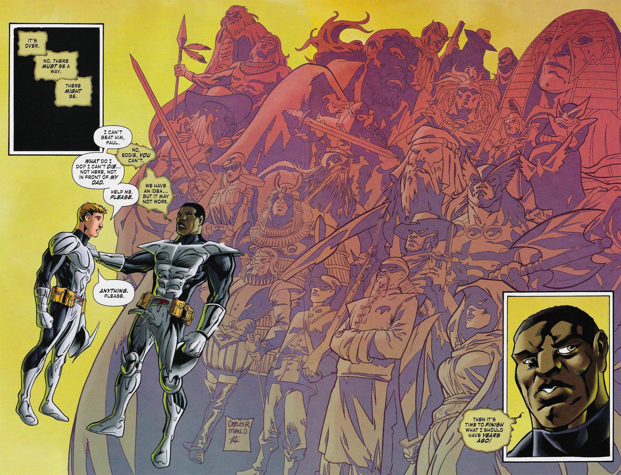 Read online ShadowHawk (2005) comic -  Issue #4 - 14