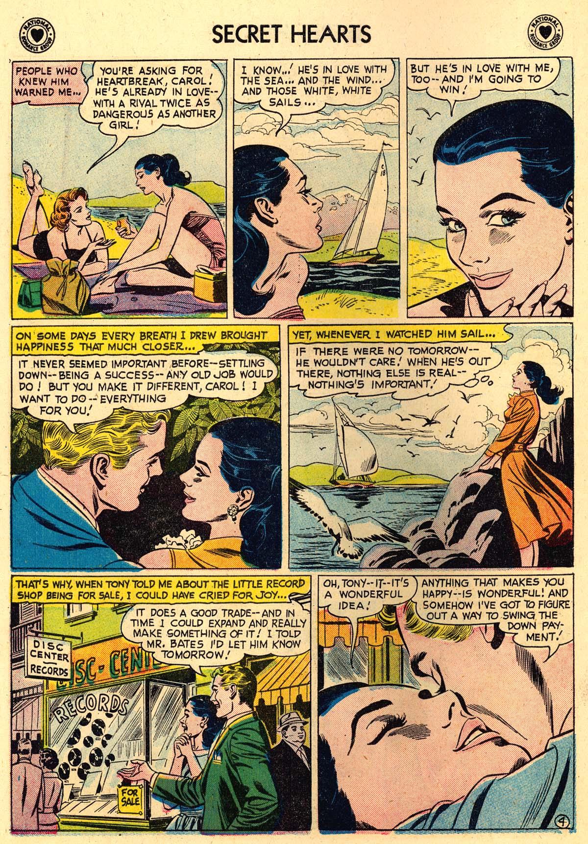 Read online Secret Hearts comic -  Issue #56 - 6